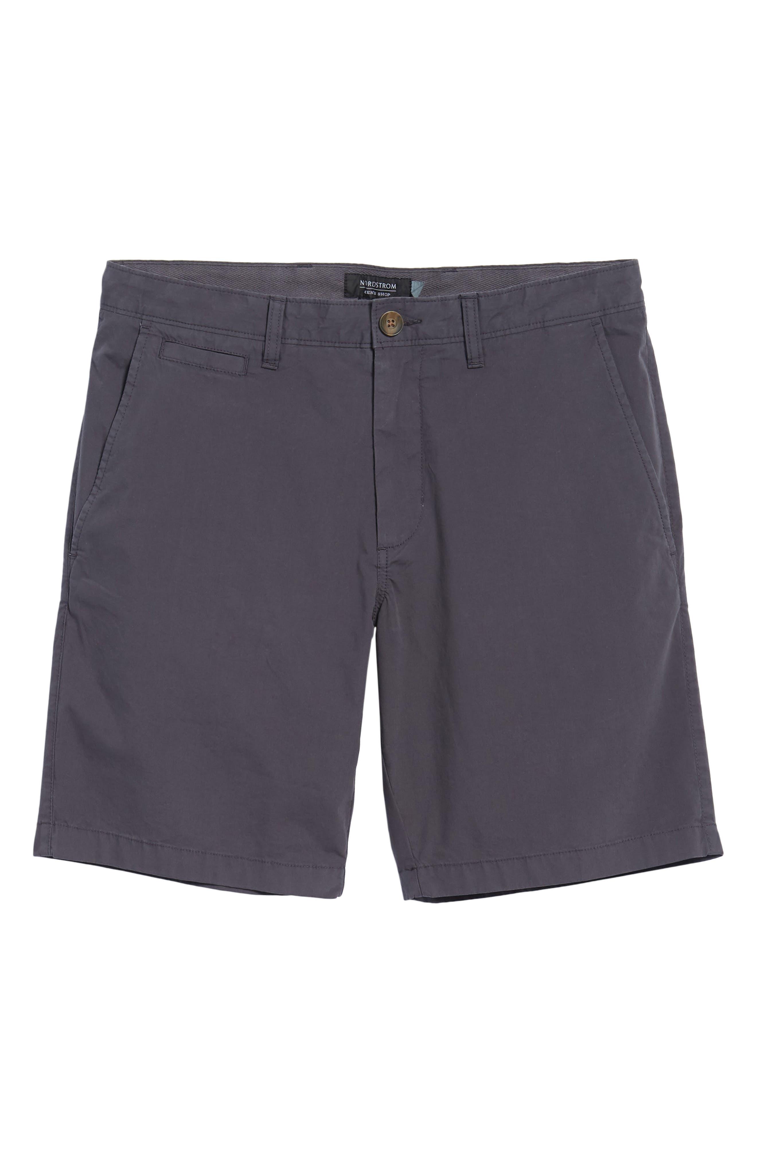 Stretch Poplin Shorts,                             Alternate thumbnail 6, color,                             021