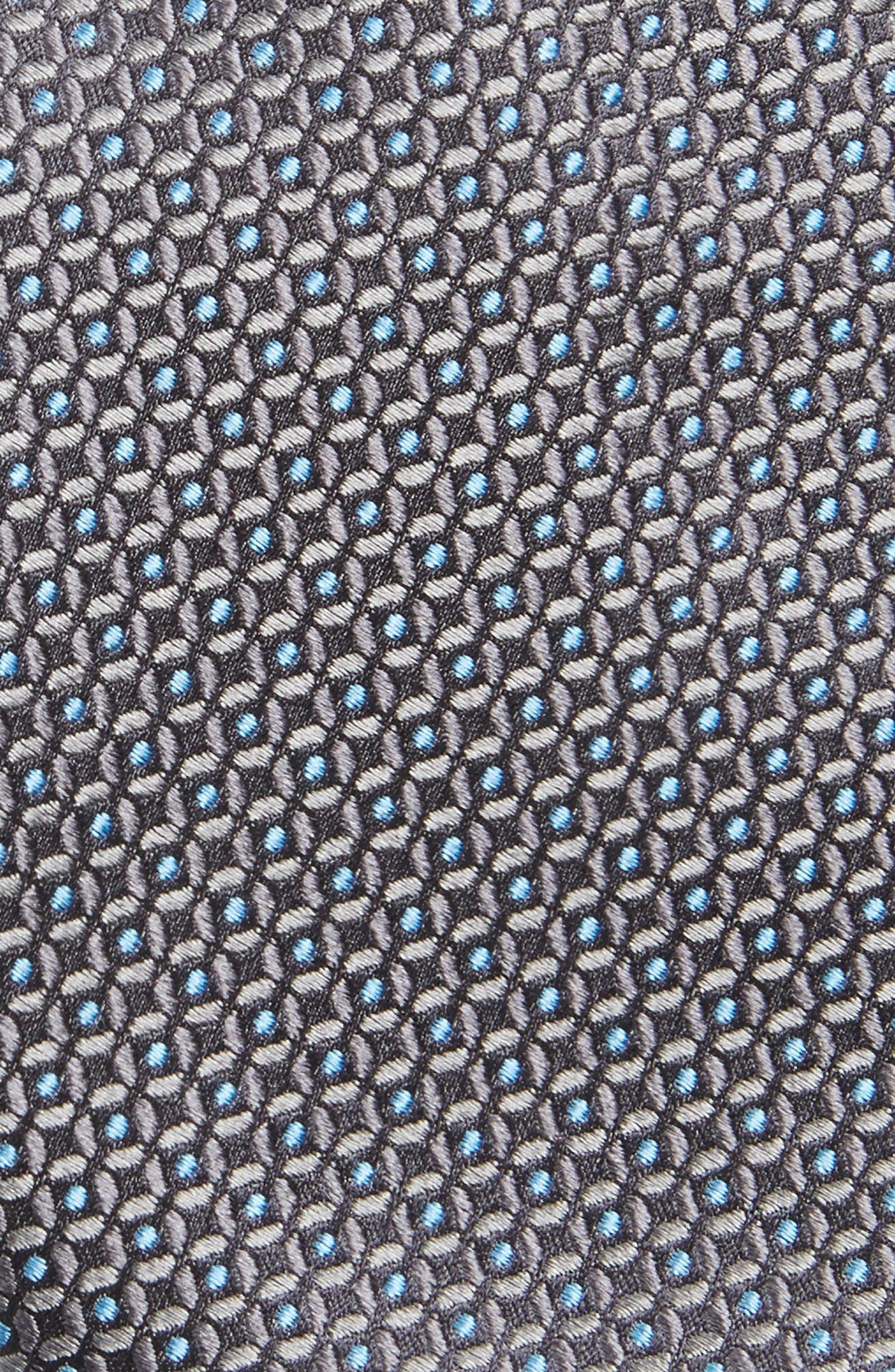 Check Silk Tie,                             Alternate thumbnail 8, color,
