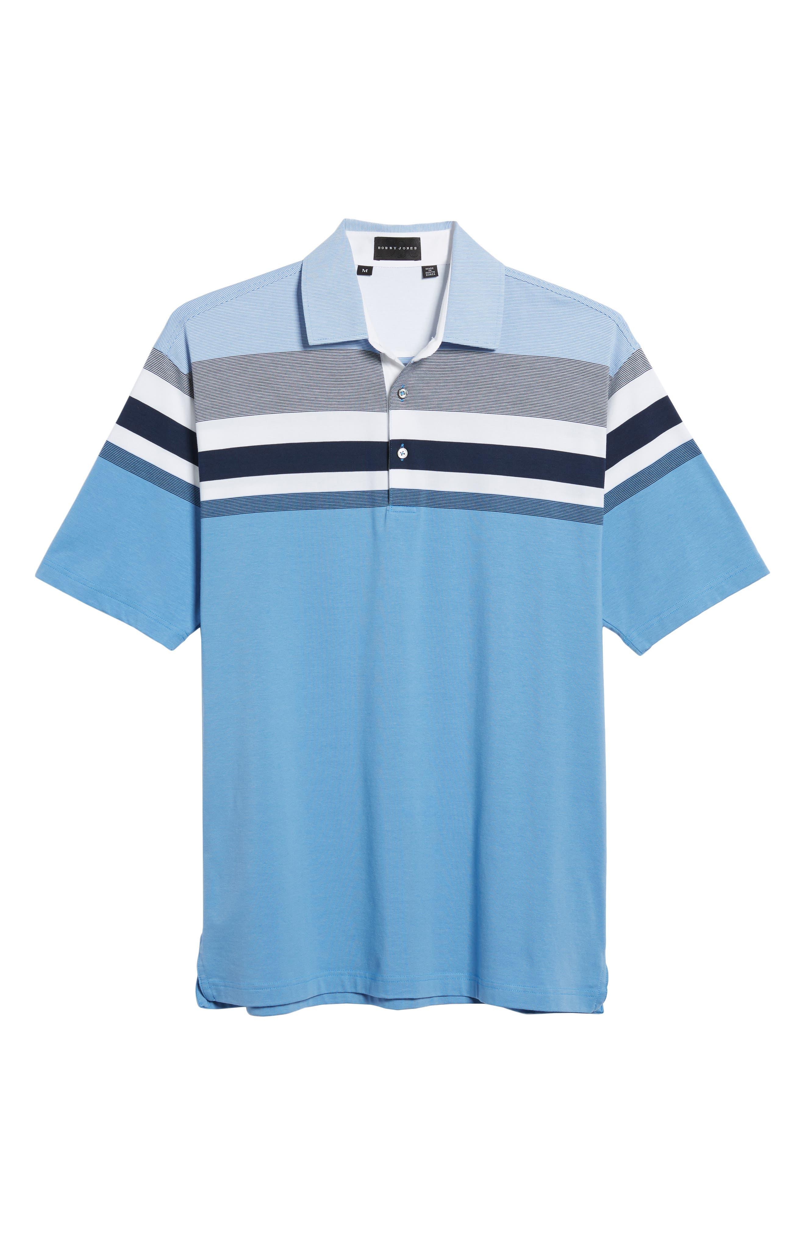 Horizon Stripe Polo,                             Alternate thumbnail 11, color,