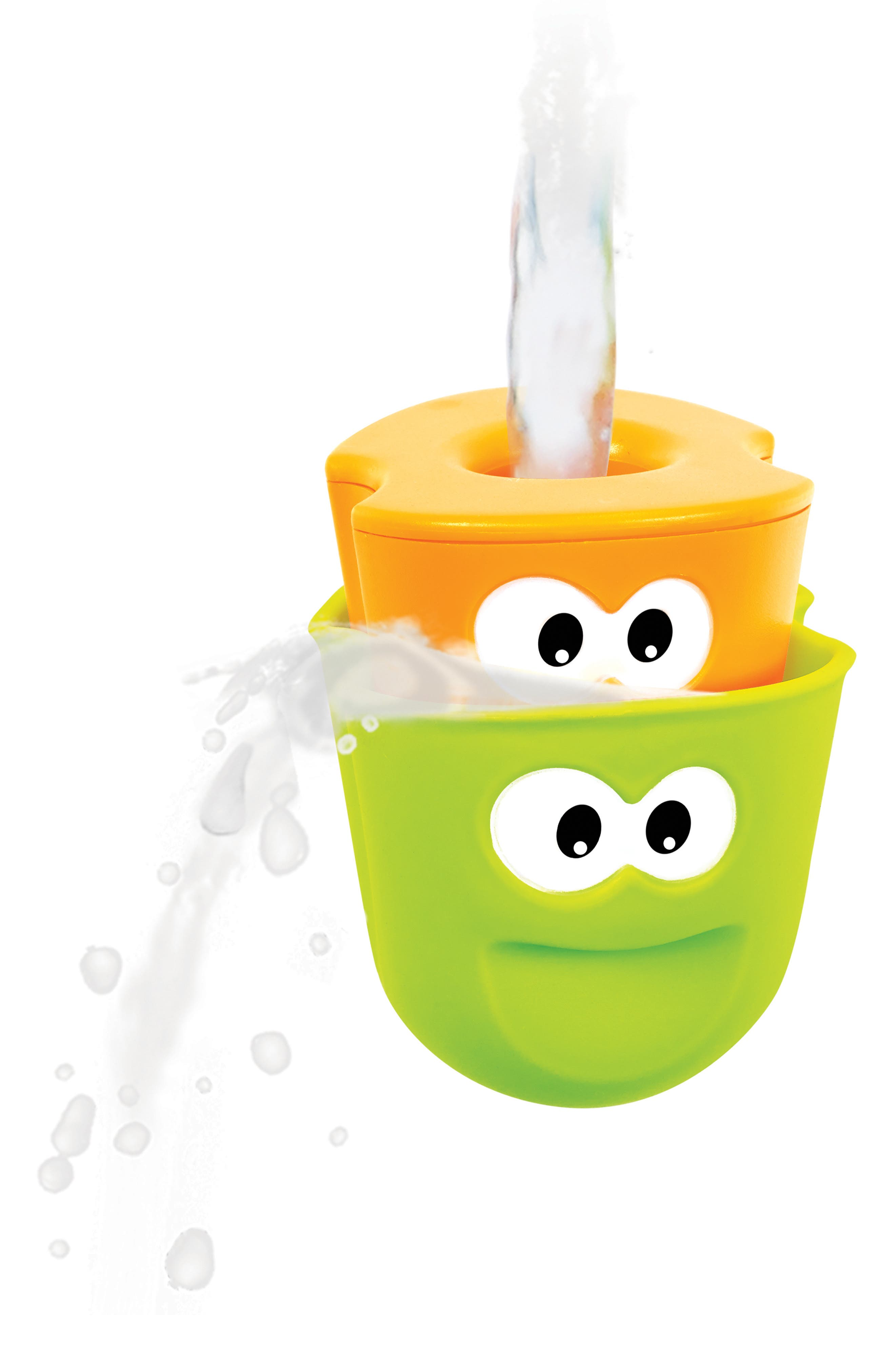 Flow 'N' Fill Spout Bath Toy,                             Alternate thumbnail 3, color,                             GREEN