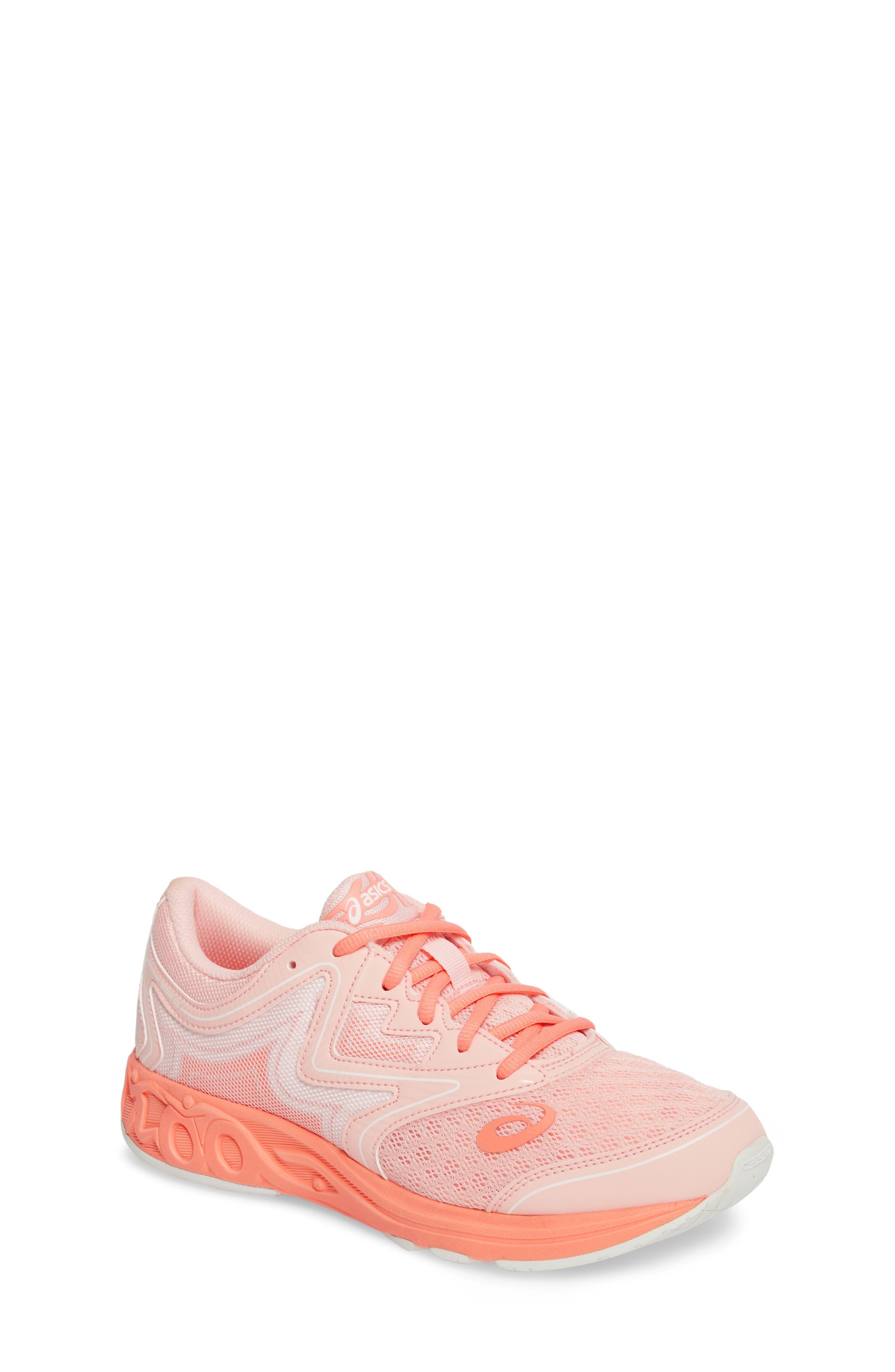 Noosa GS Sneaker,                         Main,                         color, SEASHELL PINK/ BEGONIA/ WHITE