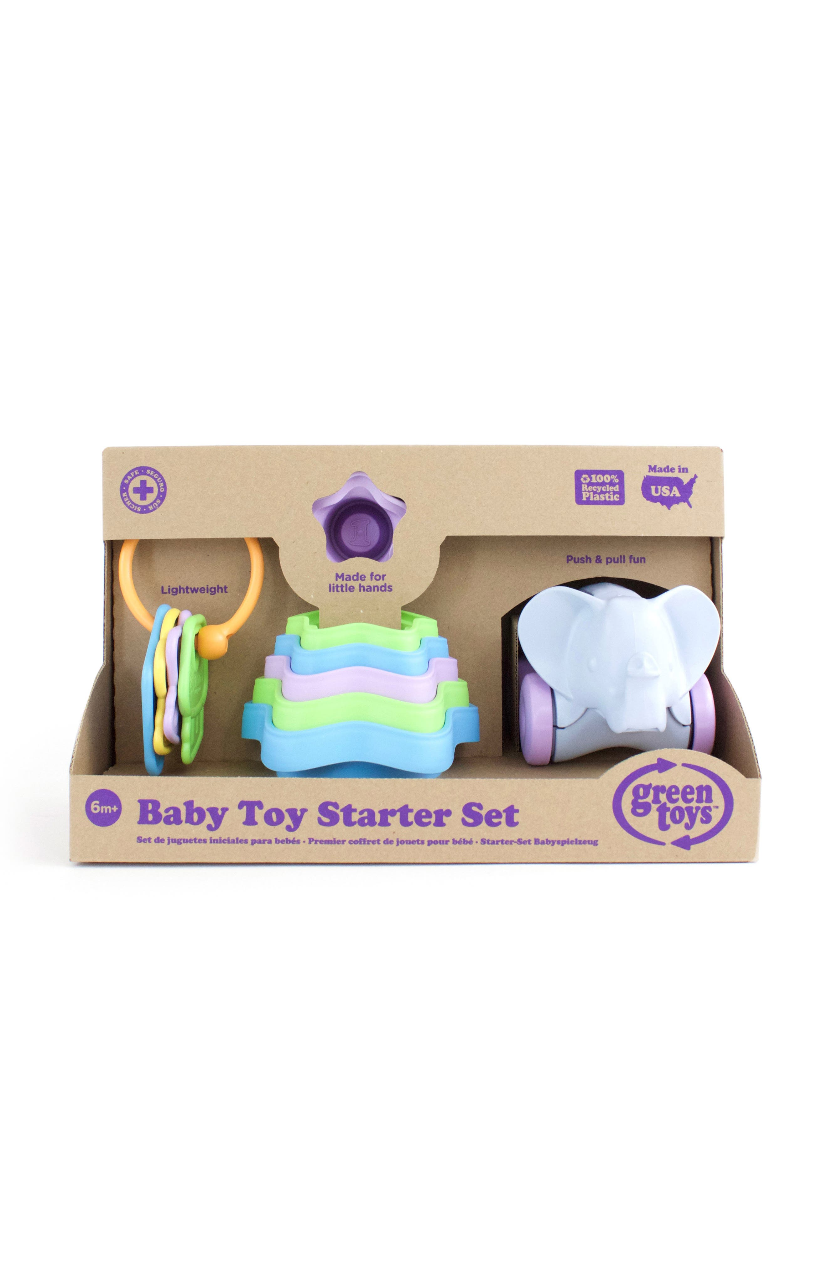 Eight-Piece Baby Toy Starter Set,                             Alternate thumbnail 3, color,                             400