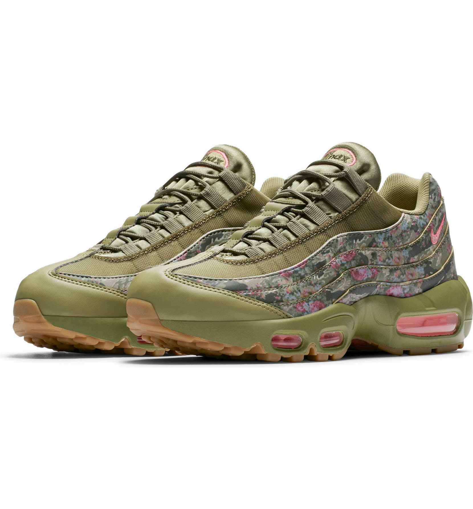 44688fe583d9ca Nike Air Max 95 Camo Running Shoe (Women)