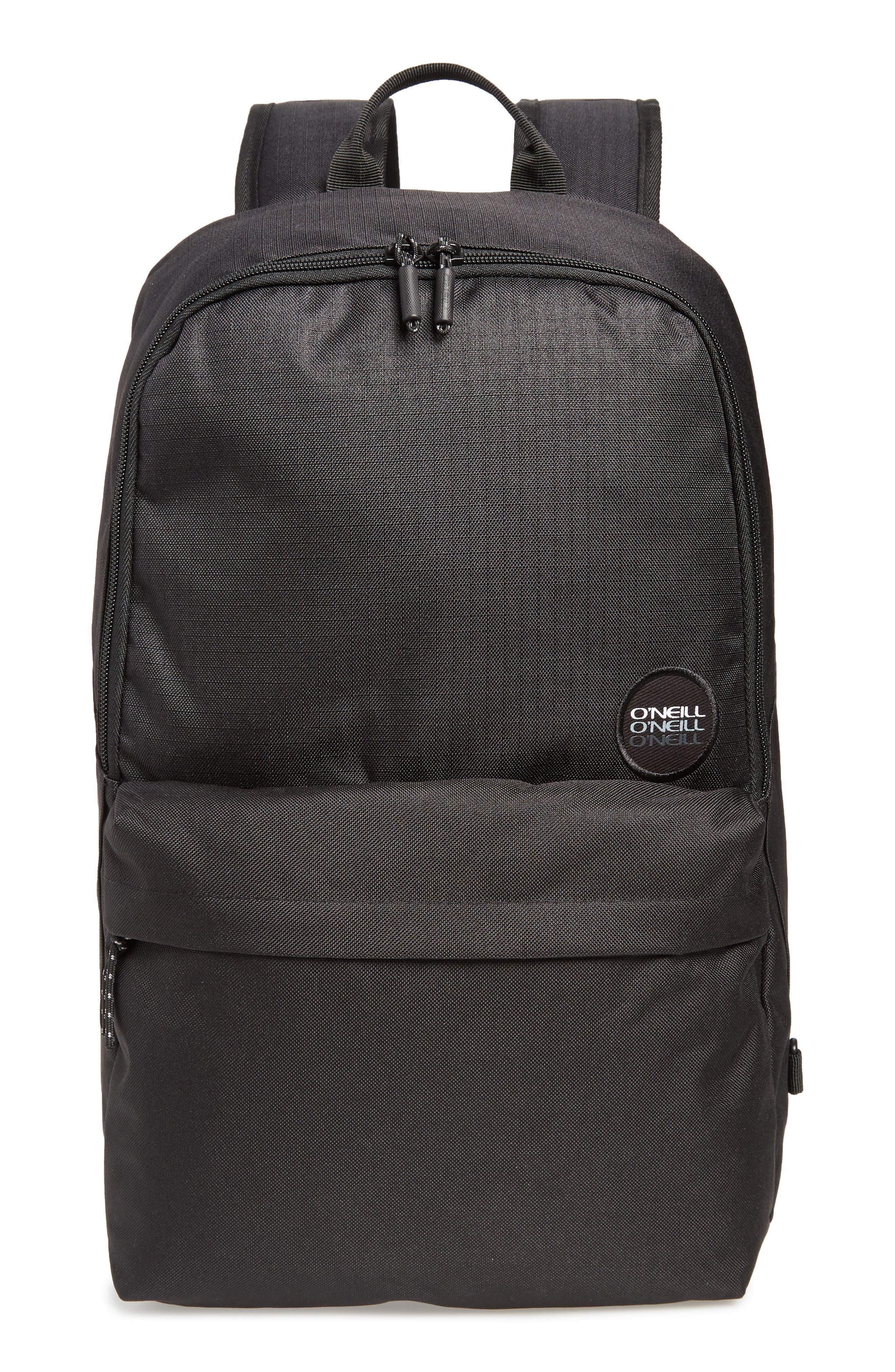 Transfer Backpack,                         Main,                         color, BLACK