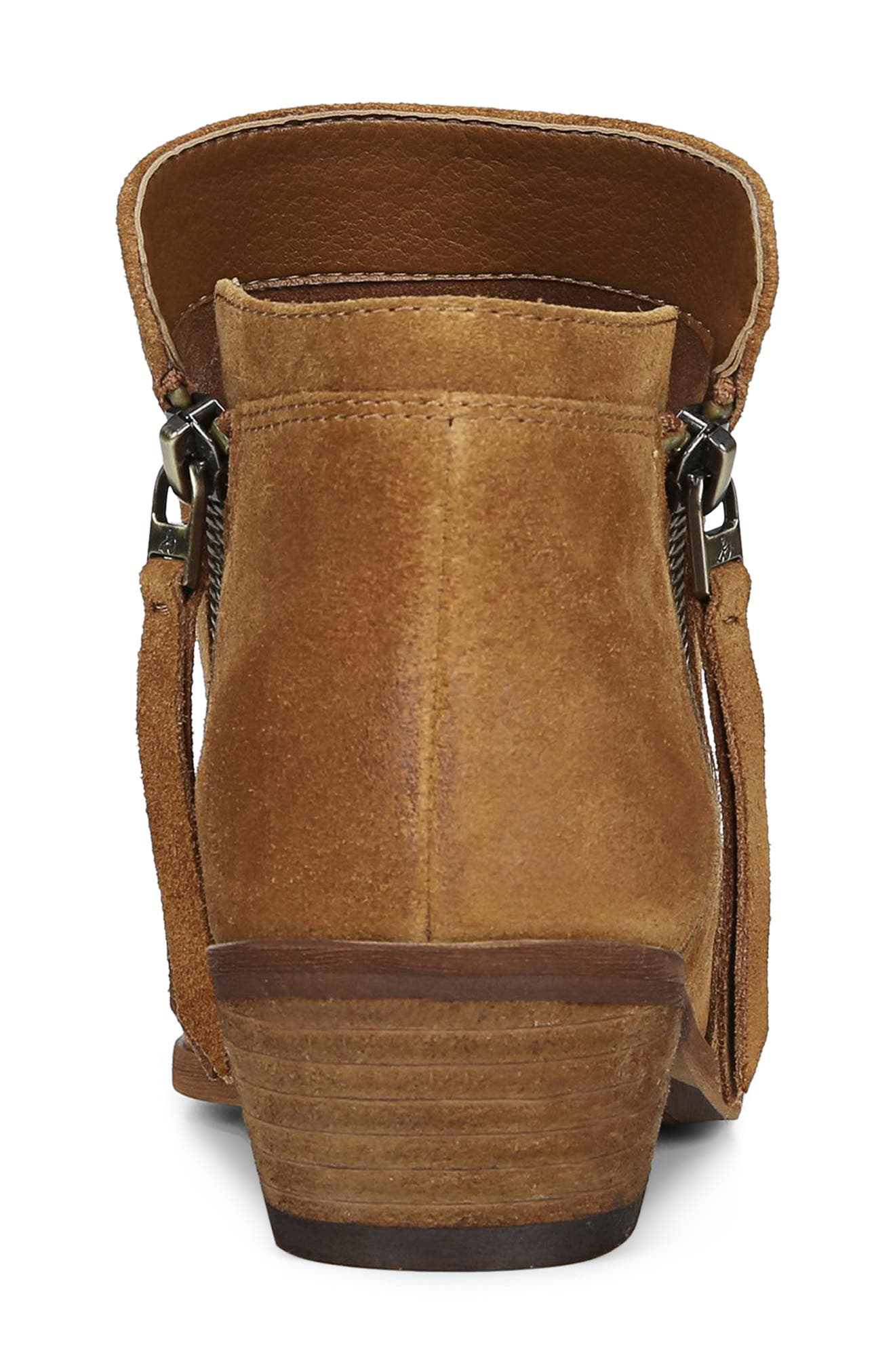 Packer Bootie,                             Alternate thumbnail 8, color,                             LUGGAGE SUEDE LEATHER