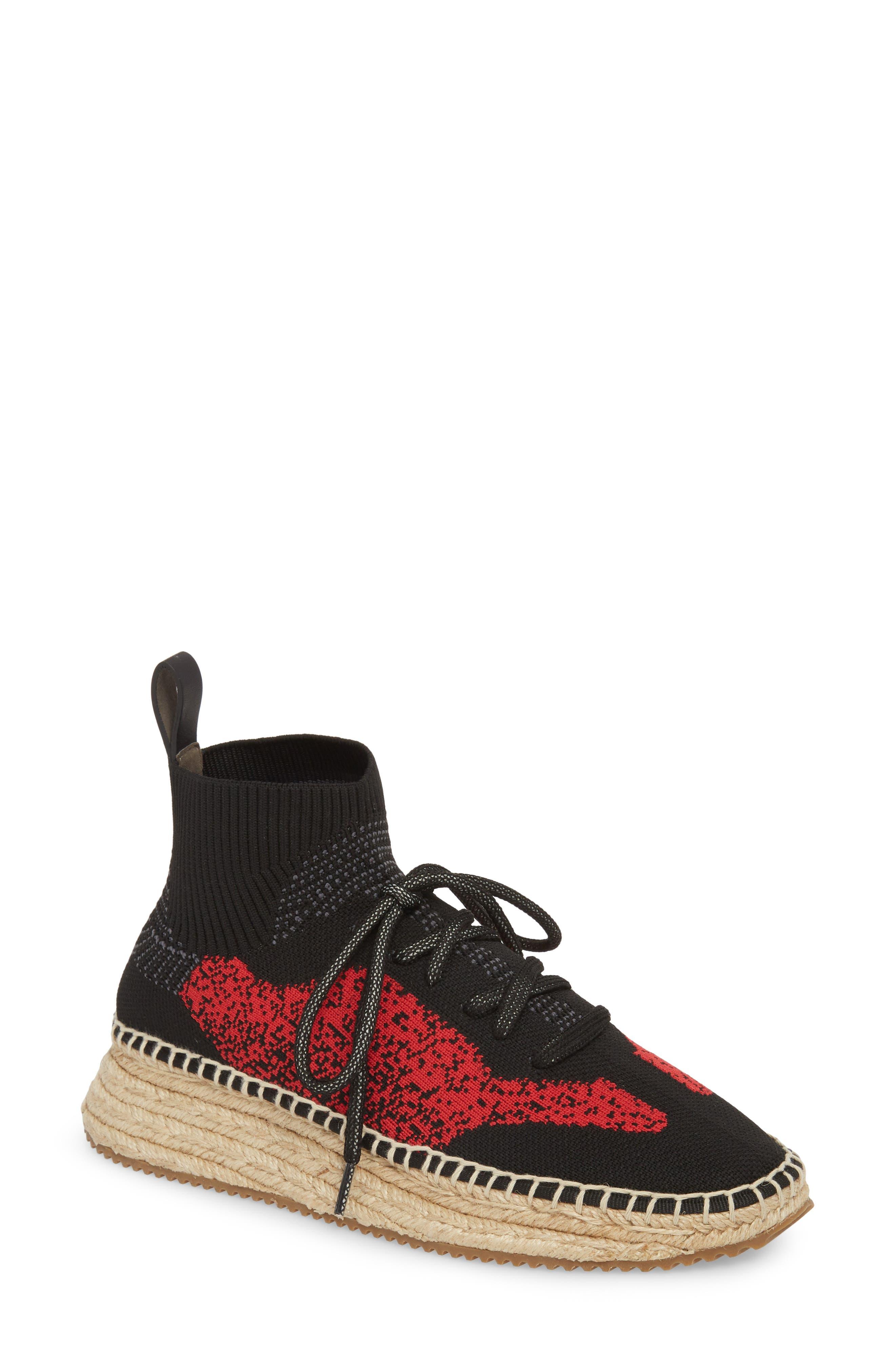 Dakota Espadrille Sock Sneaker,                             Main thumbnail 2, color,
