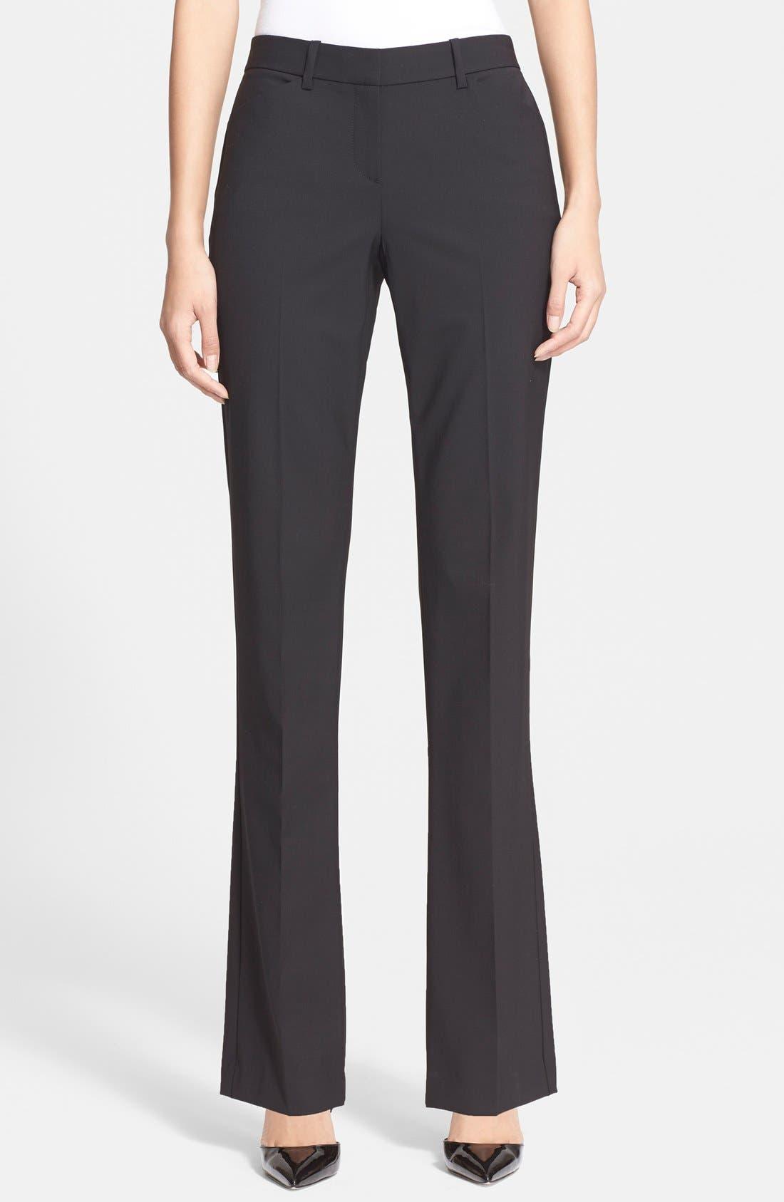 Custom Max Stretch Wool Pants,                         Main,                         color, 001