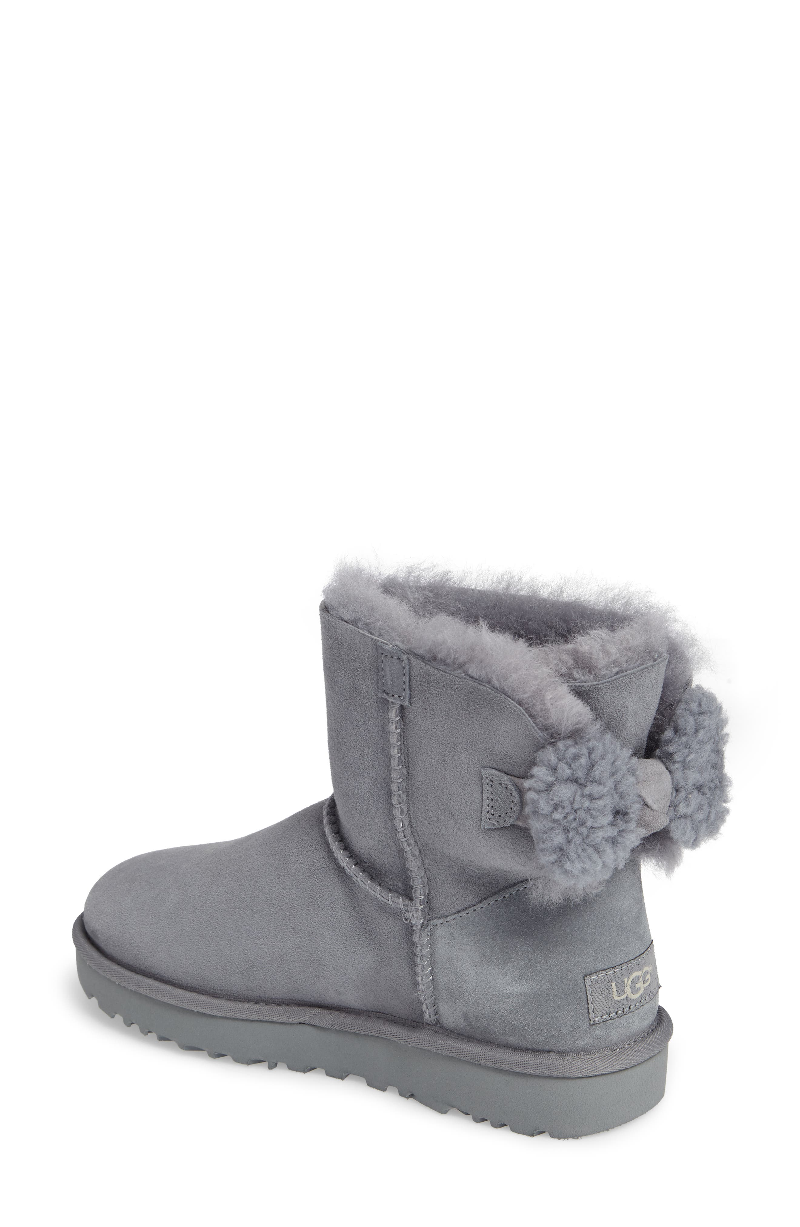 Arielle Genuine Shearling Bootie,                             Alternate thumbnail 6, color,