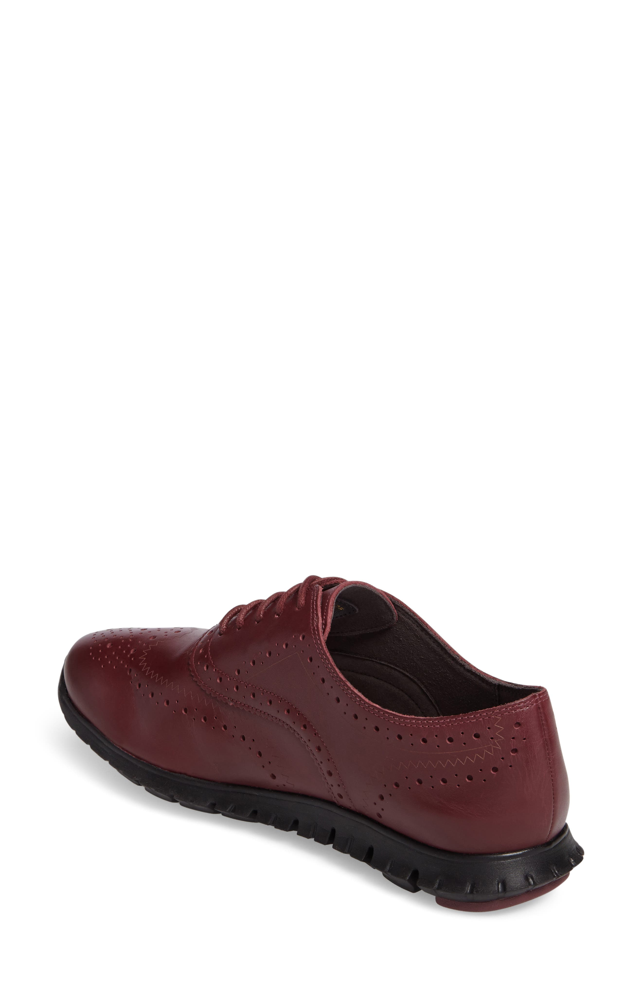 'ZeroGrand' Perforated Wingtip,                             Alternate thumbnail 91, color,