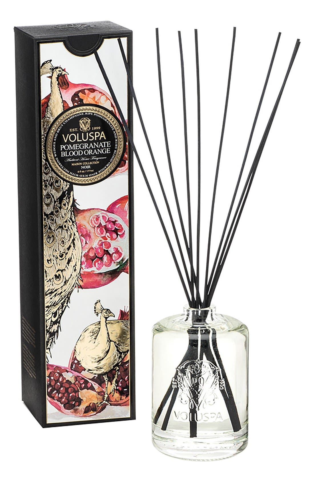 Maison Noir Fragrant Oil Diffuser,                         Main,                         color, POMEGRANATE BLOOD ORANGE