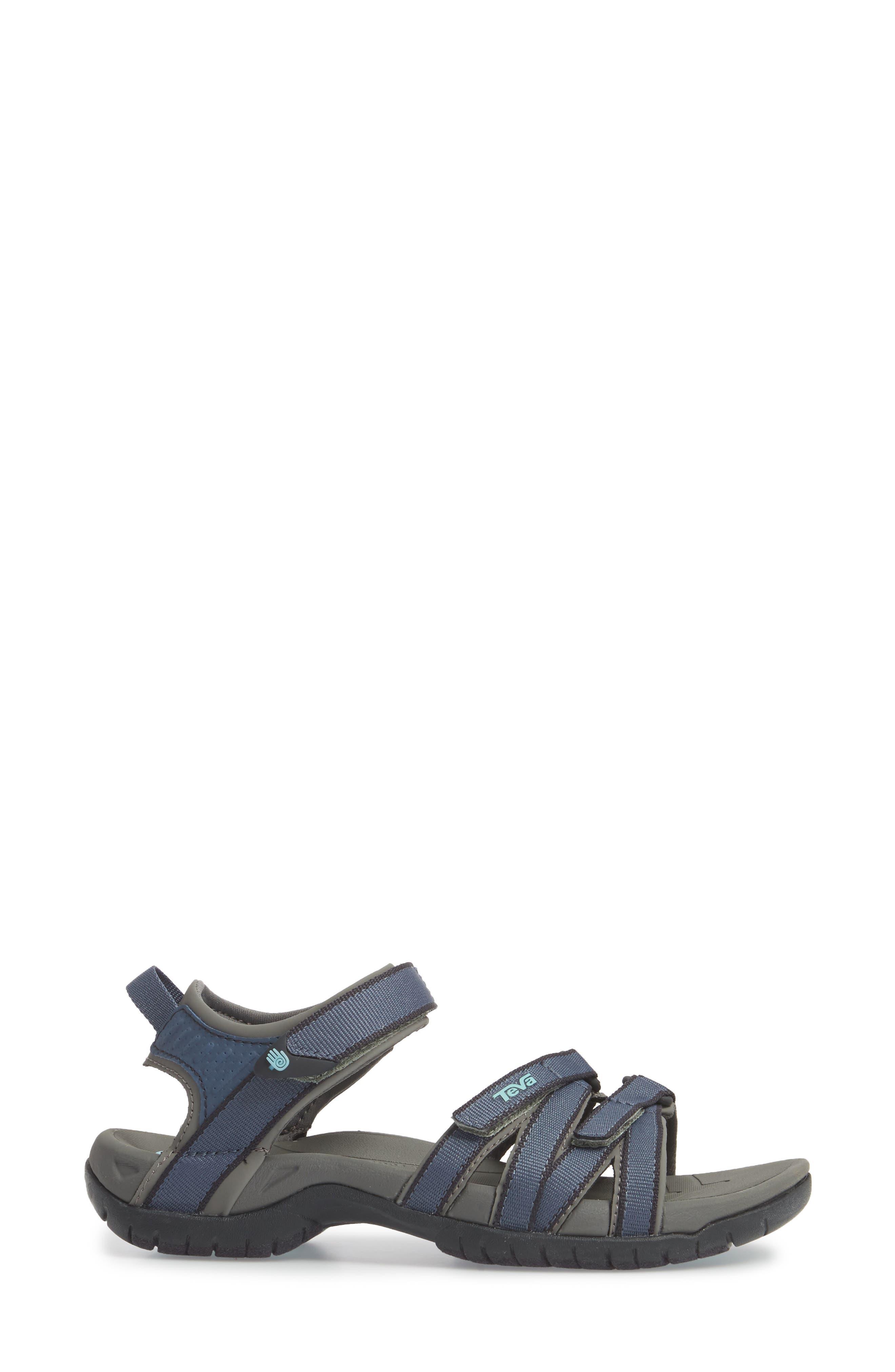 'Tirra' Sandal,                             Alternate thumbnail 3, color,                             BERING SEA