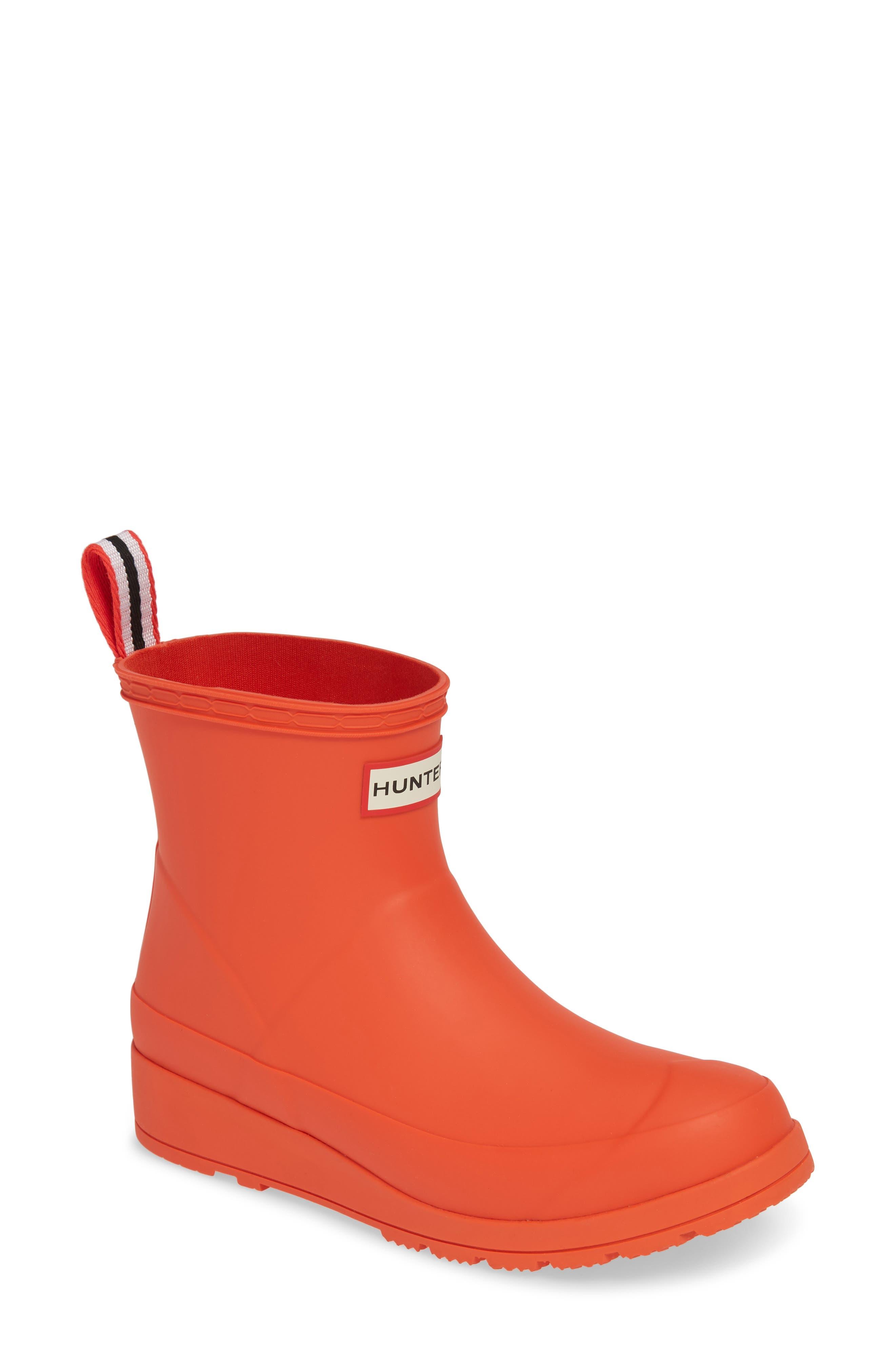 HUNTER Original Play Waterproof Rain Bootie, Main, color, LIGHTHOUSE