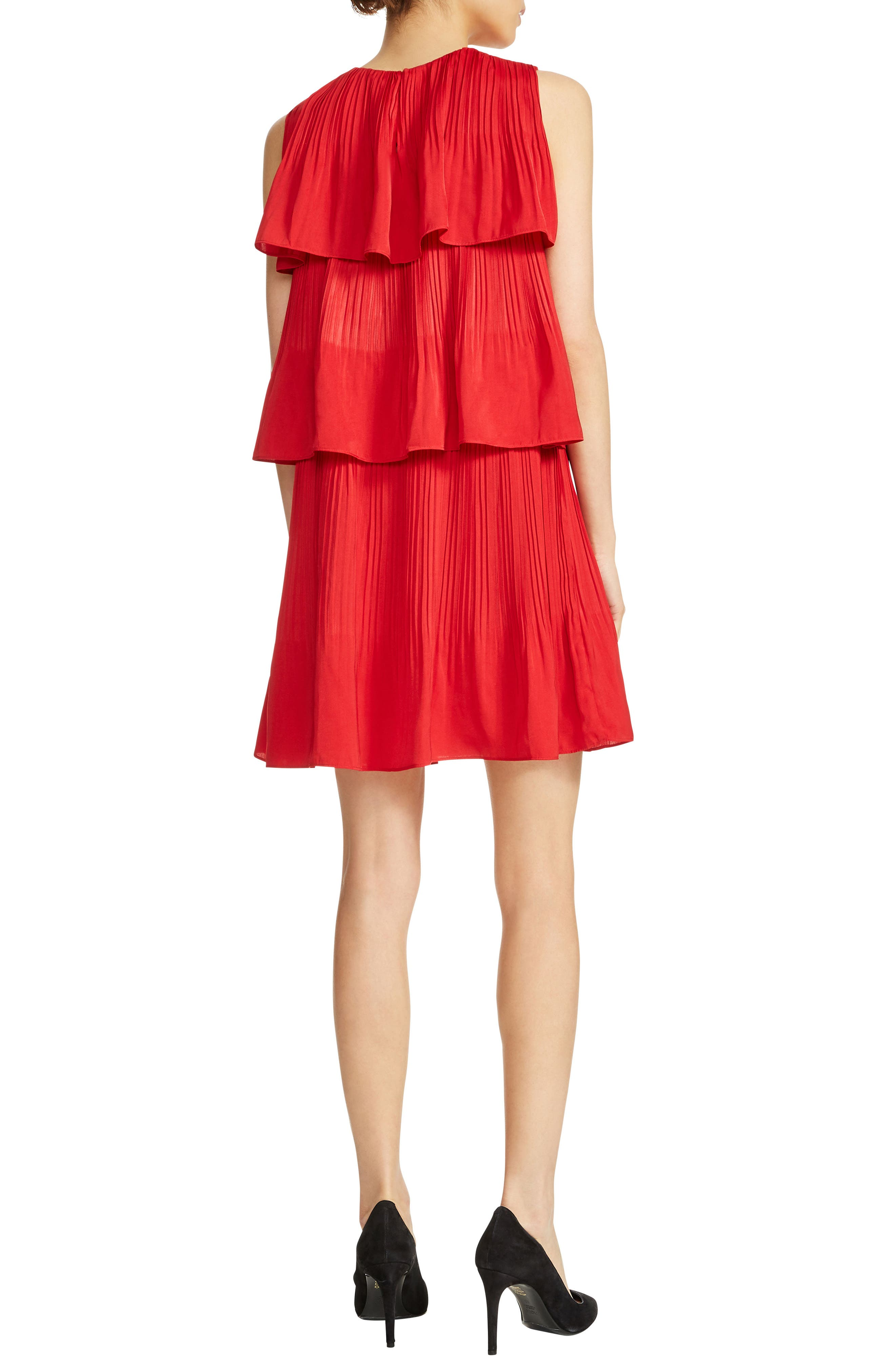 Rockano Tired Ruffle Dress,                             Alternate thumbnail 2, color,