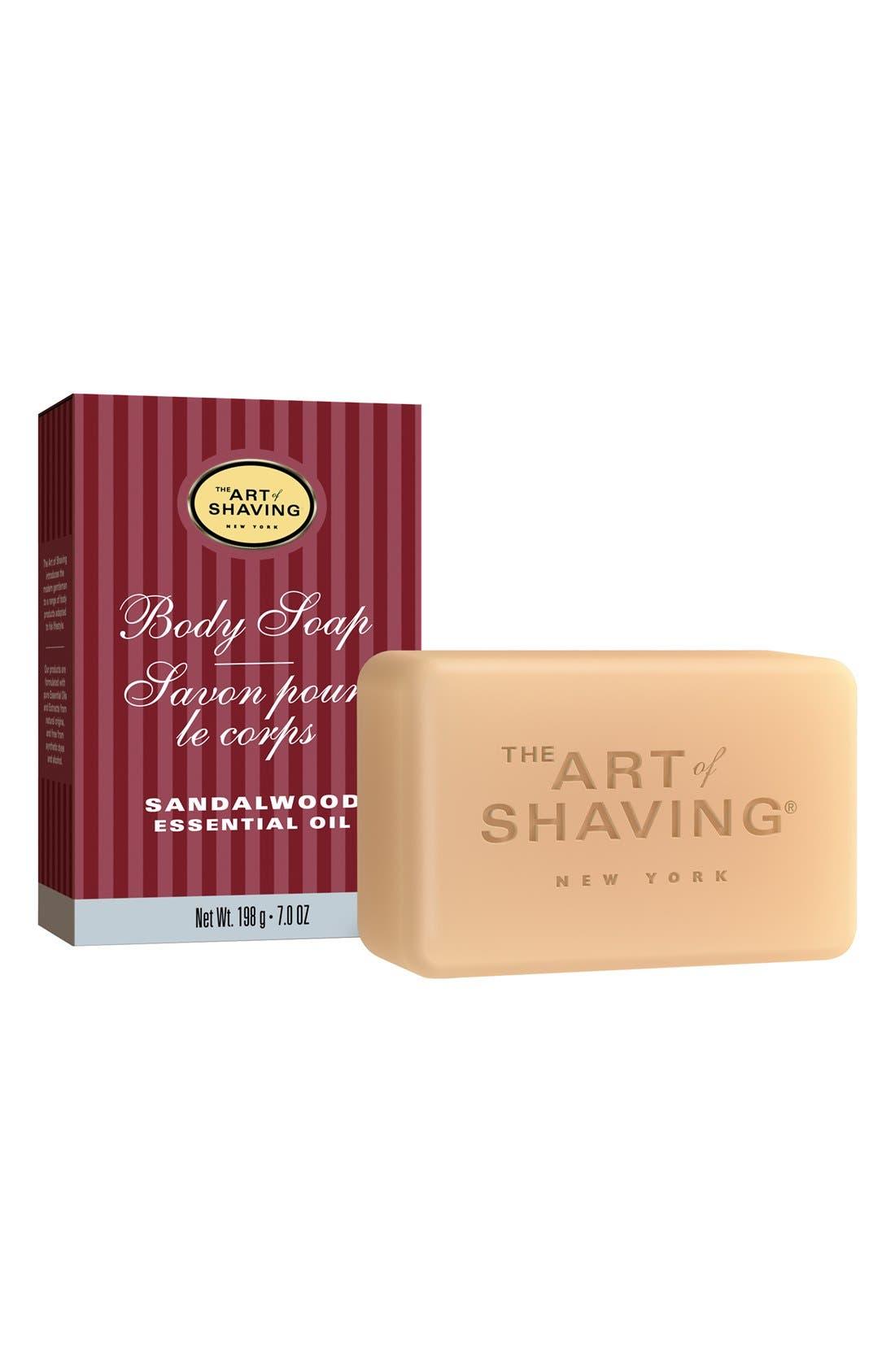 Body Soap,                             Main thumbnail 1, color,                             SANDALWOOD