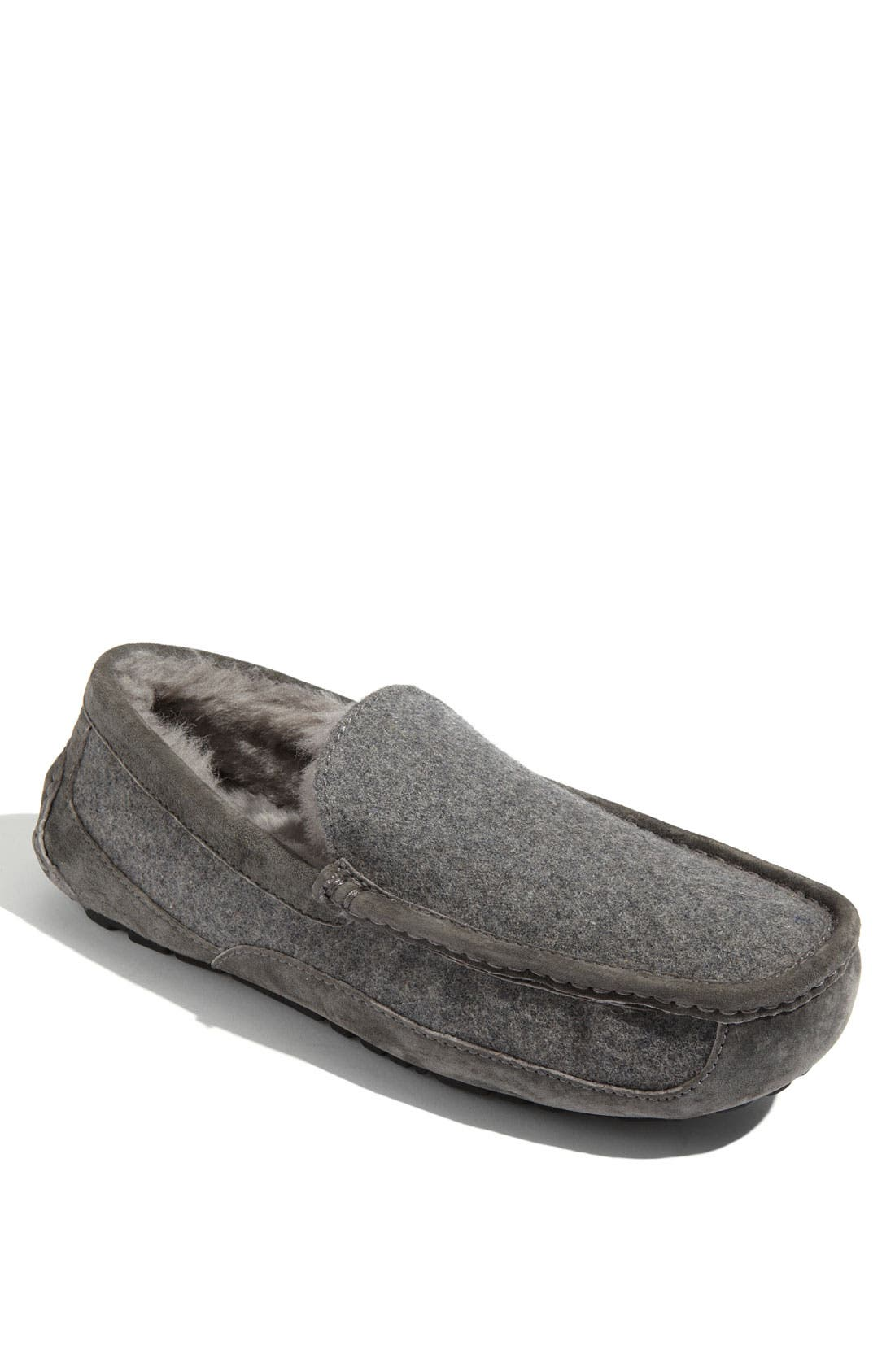 Australia 'Ascot' Wool Slipper,                             Main thumbnail 1, color,                             027