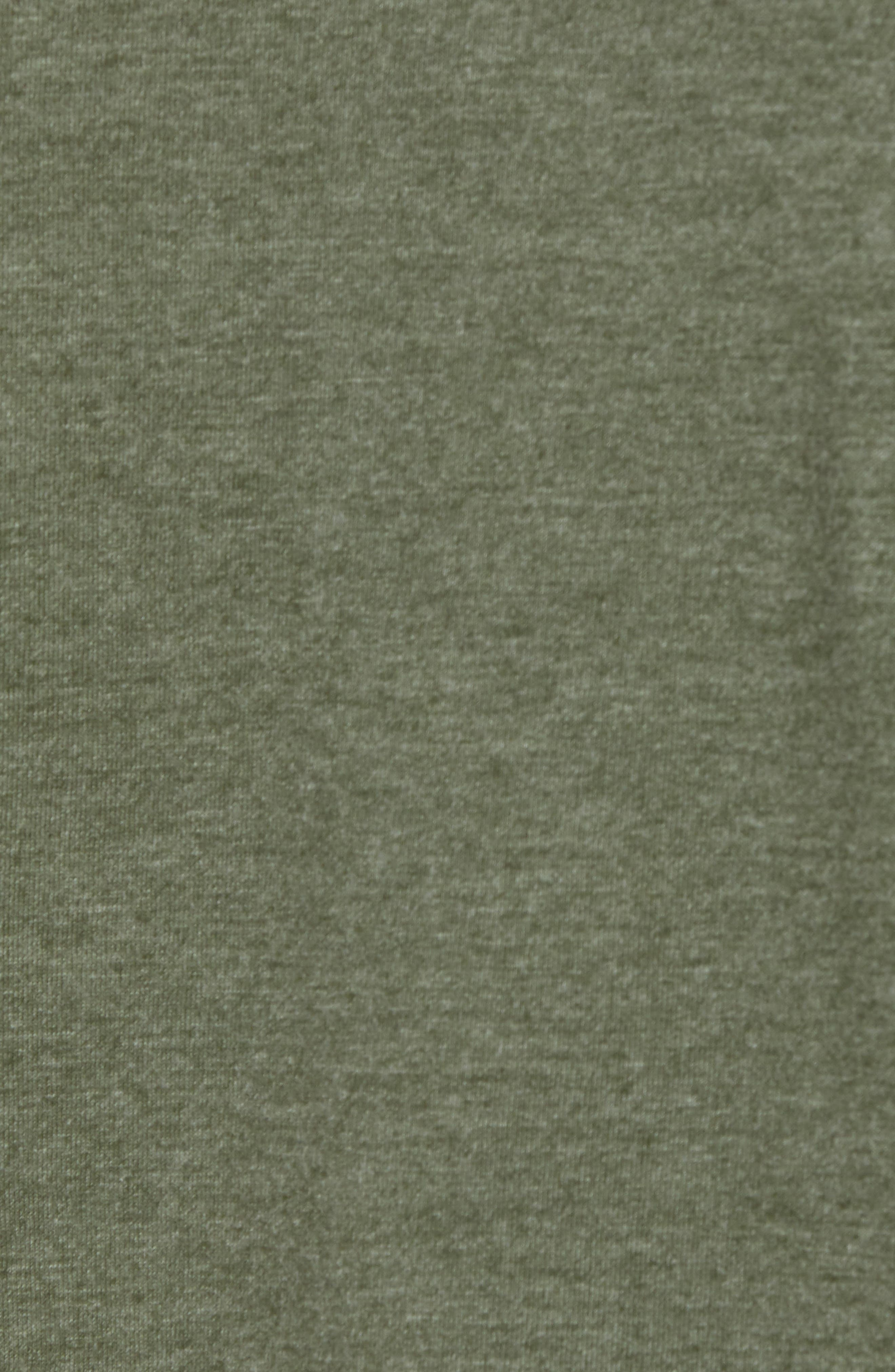 Perfomance T-Shirt,                             Alternate thumbnail 5, color,                             GREEN TACTICAL MELANGE