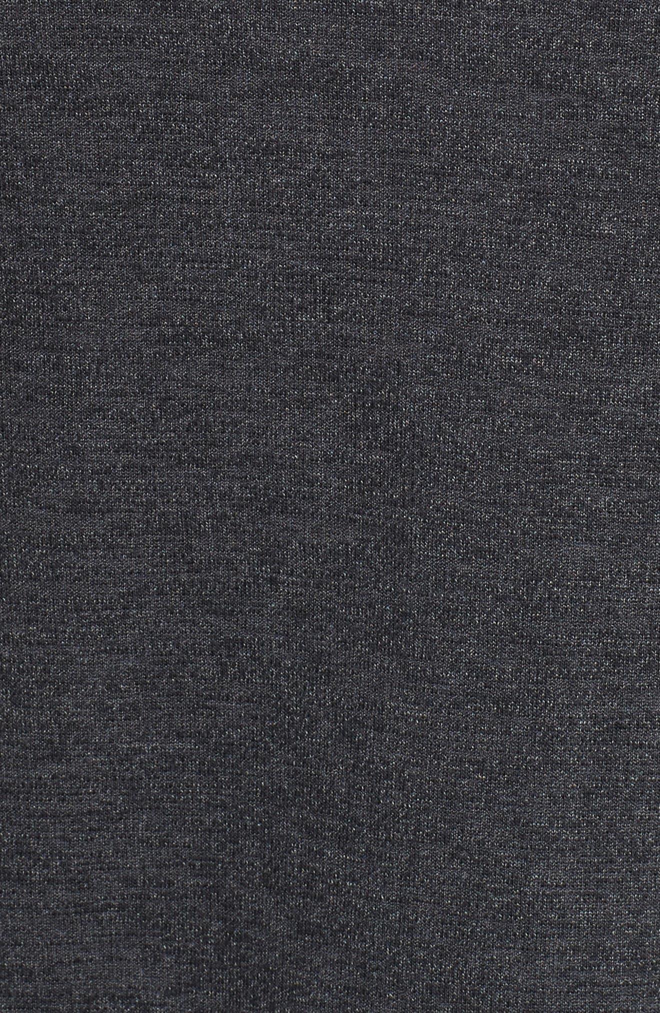 Sportstyle Zip Hoodie,                             Alternate thumbnail 5, color,                             BLACK