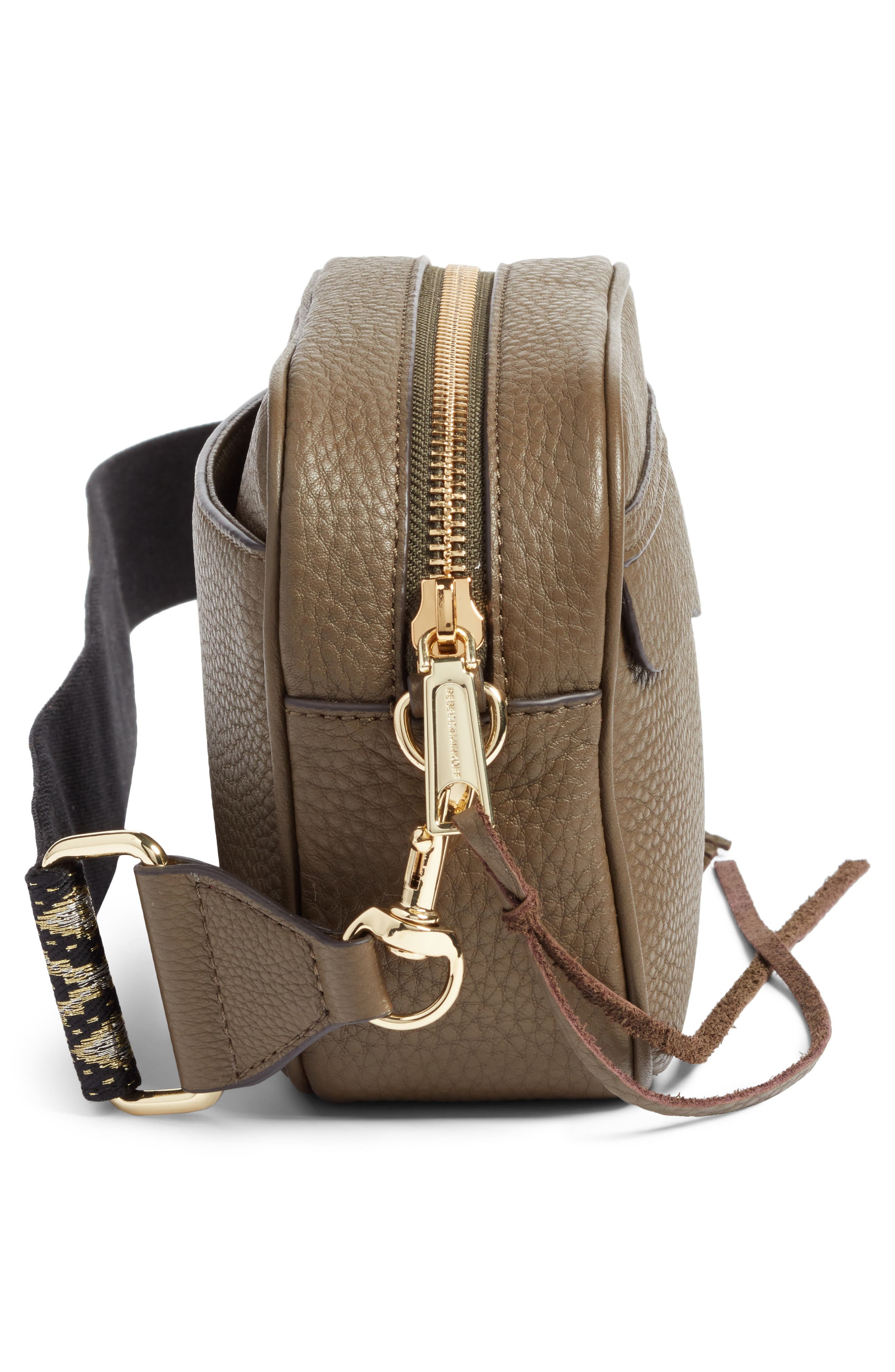 Leather Camera Bag with Guitar Strap,                             Alternate thumbnail 15, color,