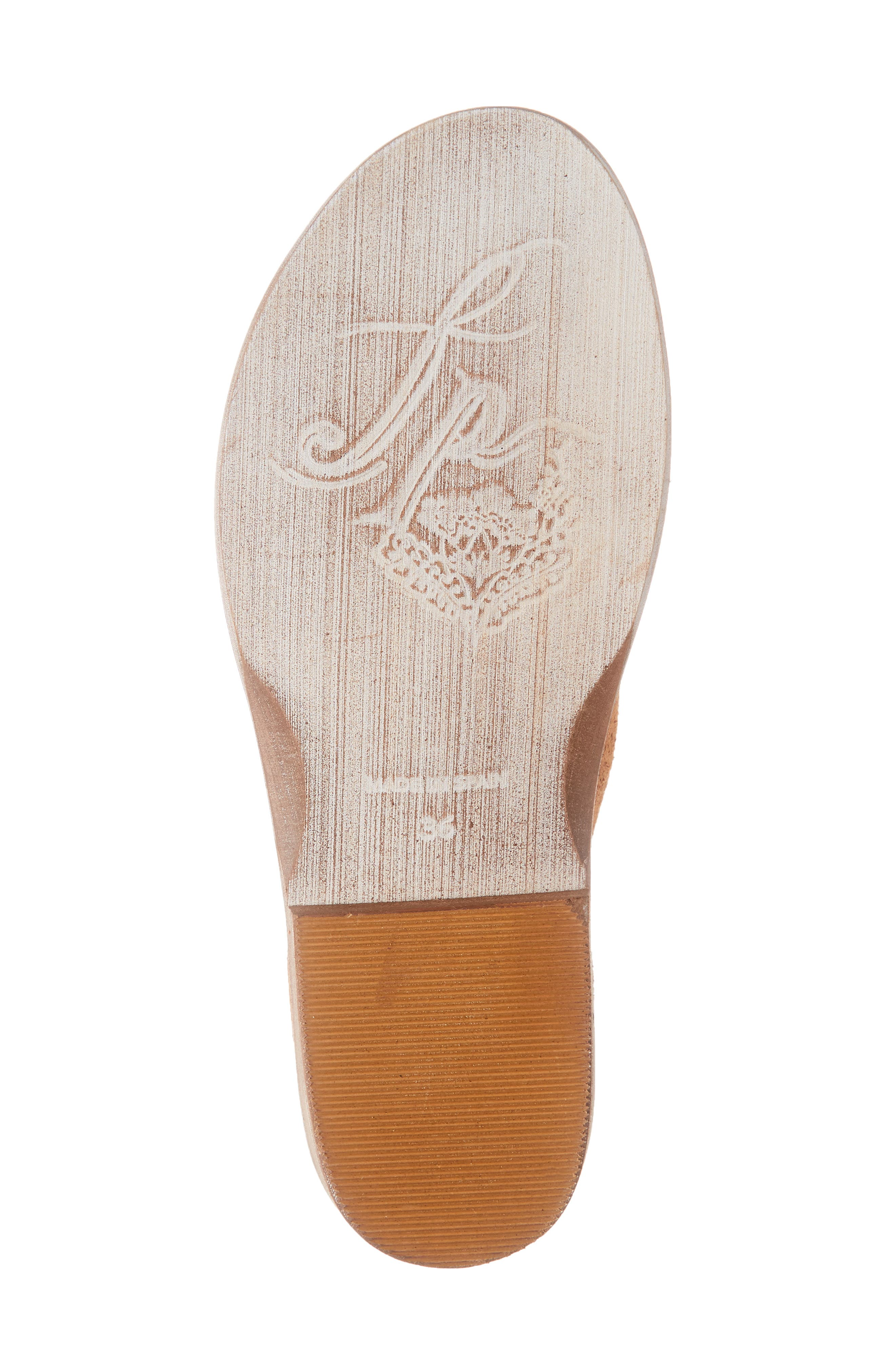 FREE PEOPLE,                             'Mont Blanc' Asymmetrical Sandal,                             Alternate thumbnail 6, color,                             ROSE