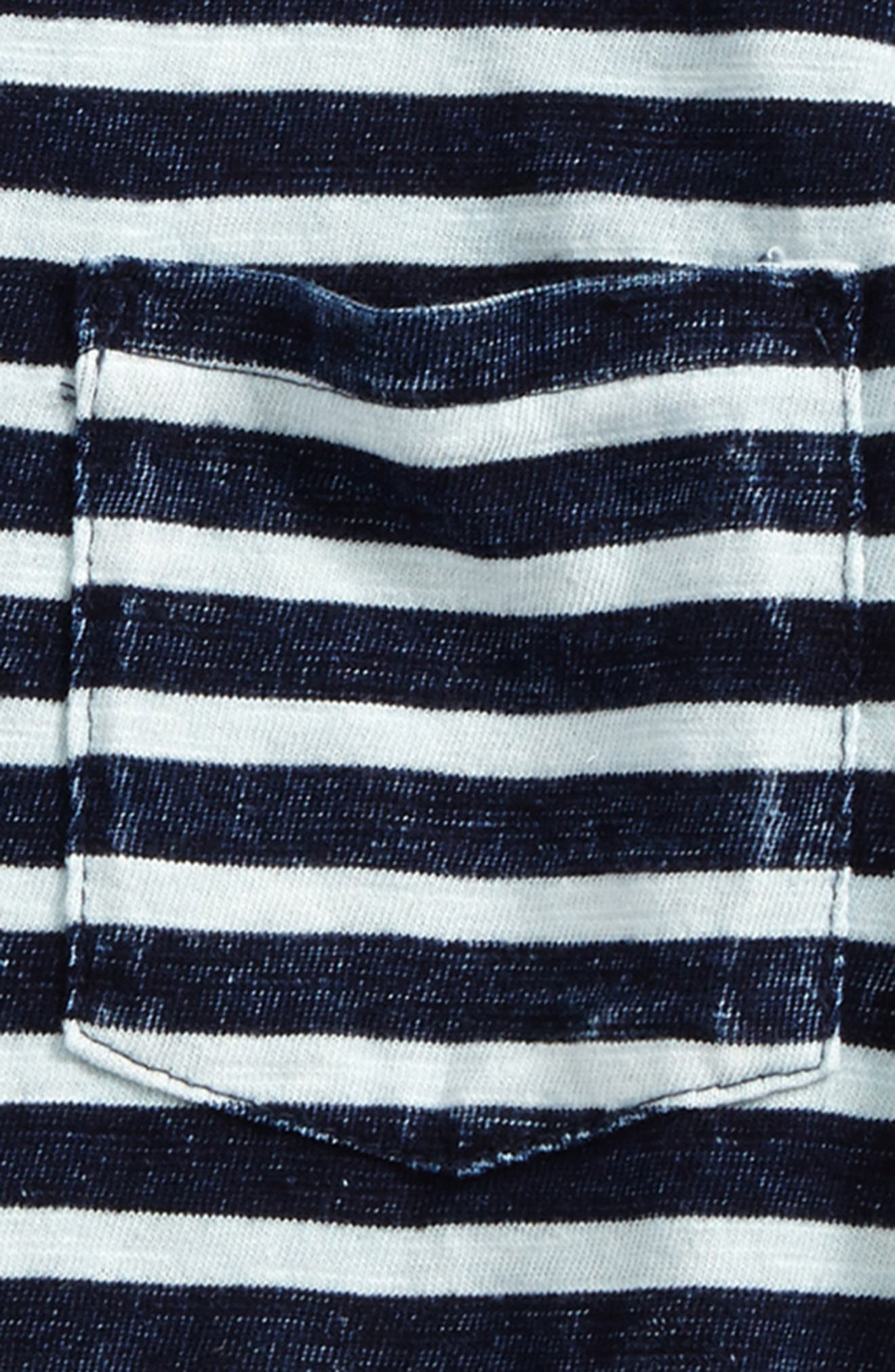 Acid Wash Stripe T-Shirt,                             Alternate thumbnail 2, color,                             404
