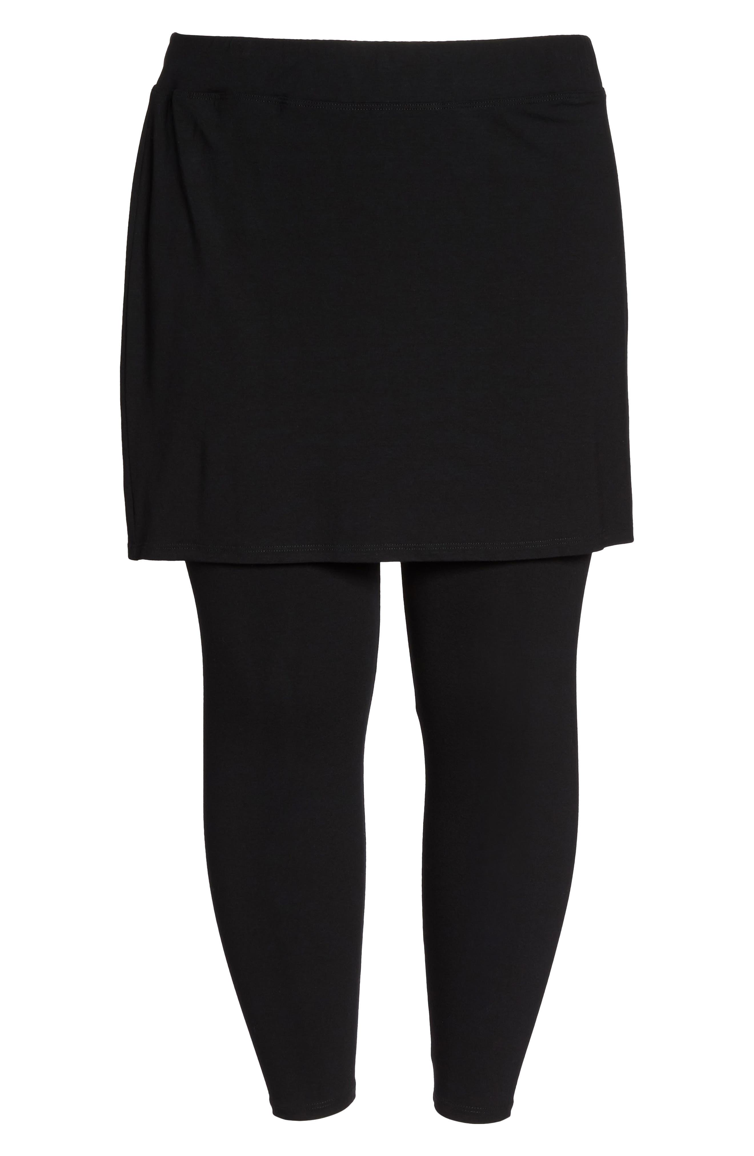 1570c505d9b6b ... UPC 713259583087 product image for Plus Size Women's Eileen Fisher  Skirted Leggings, Size 3X -