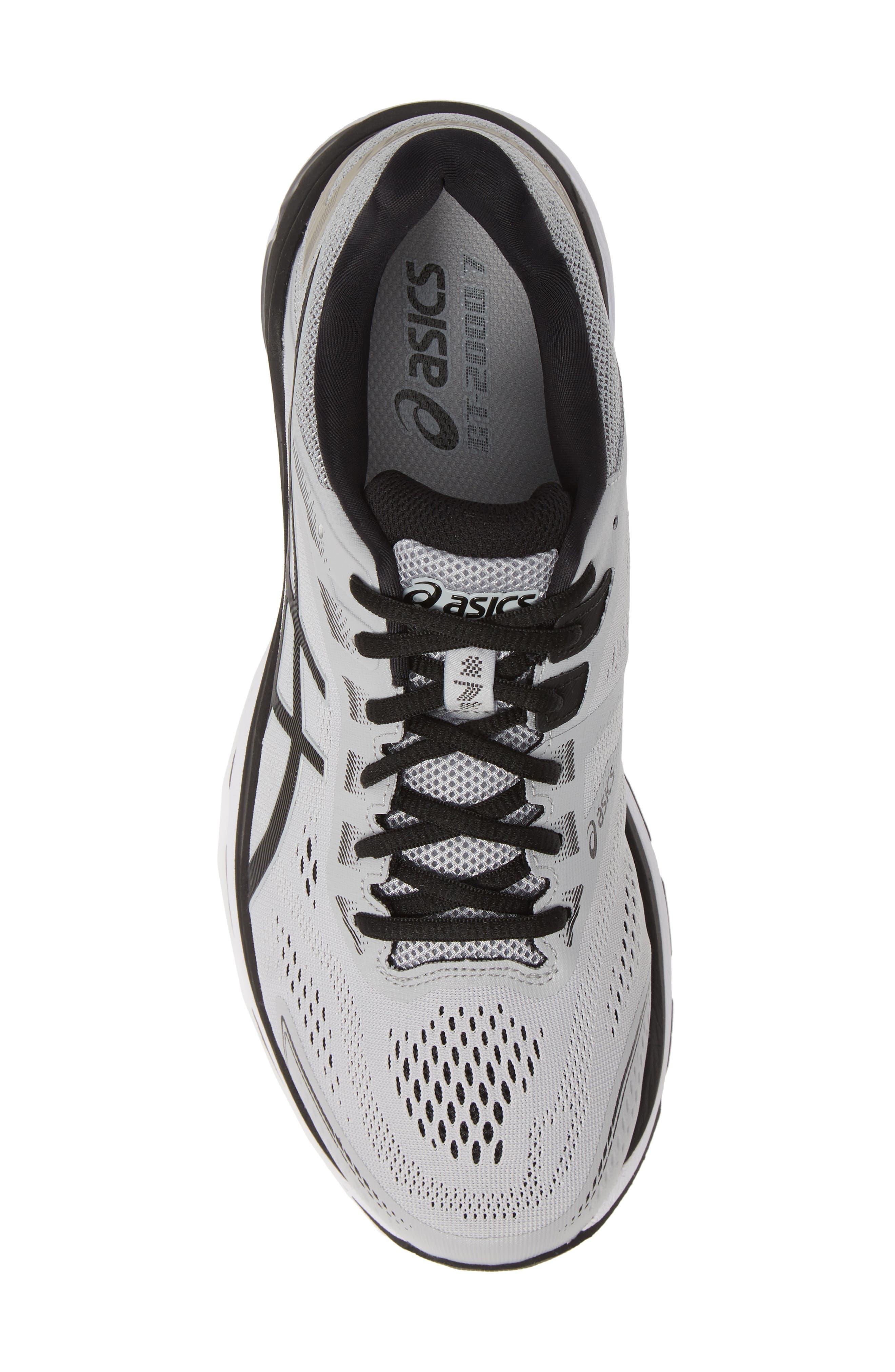 GT-2000 7 Running Shoe,                             Alternate thumbnail 5, color,                             MID GREY/ BLACK