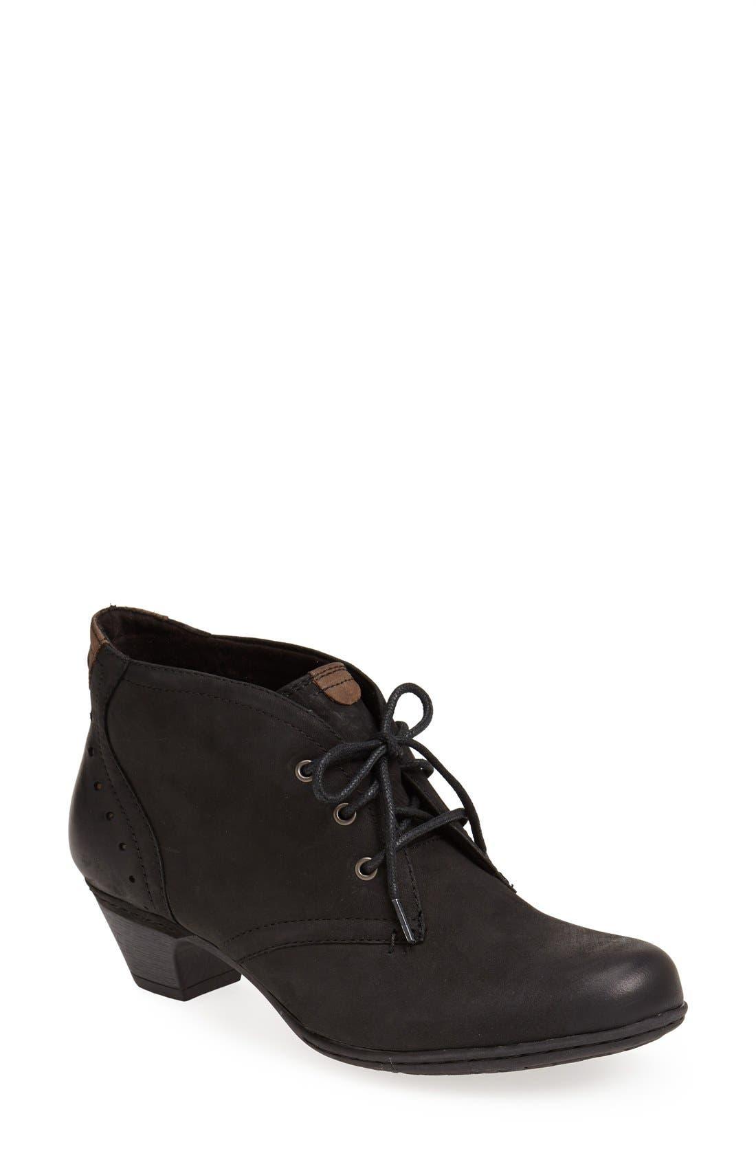 Aria Leather Boot,                             Main thumbnail 1, color,                             BLACK