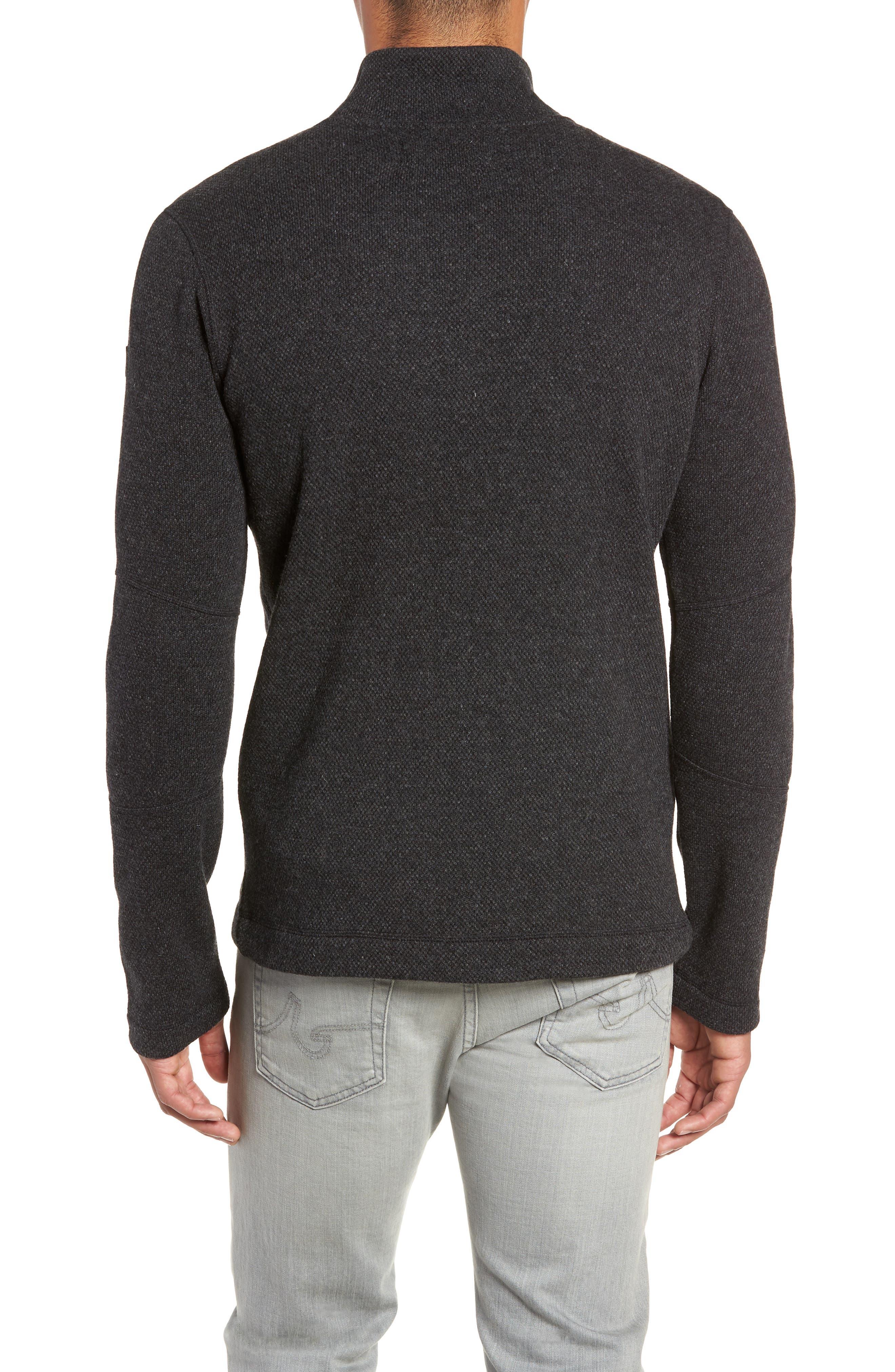 Hudson Trail Regular Fit Fleece Half-Zip Sweater,                             Alternate thumbnail 2, color,                             020