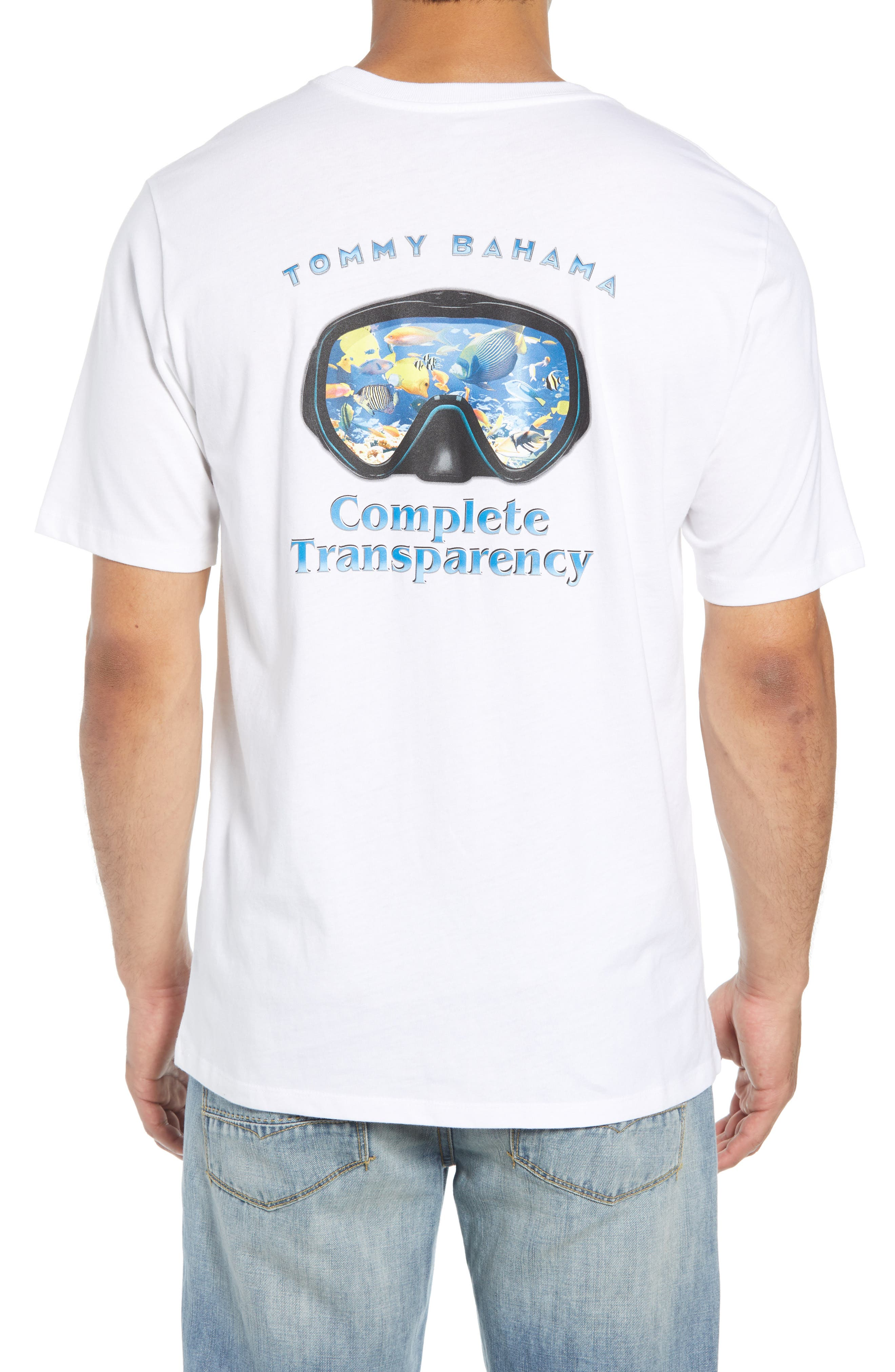 TOMMY BAHAMA,                             Complete Transparency T-Shirt,                             Alternate thumbnail 2, color,                             100