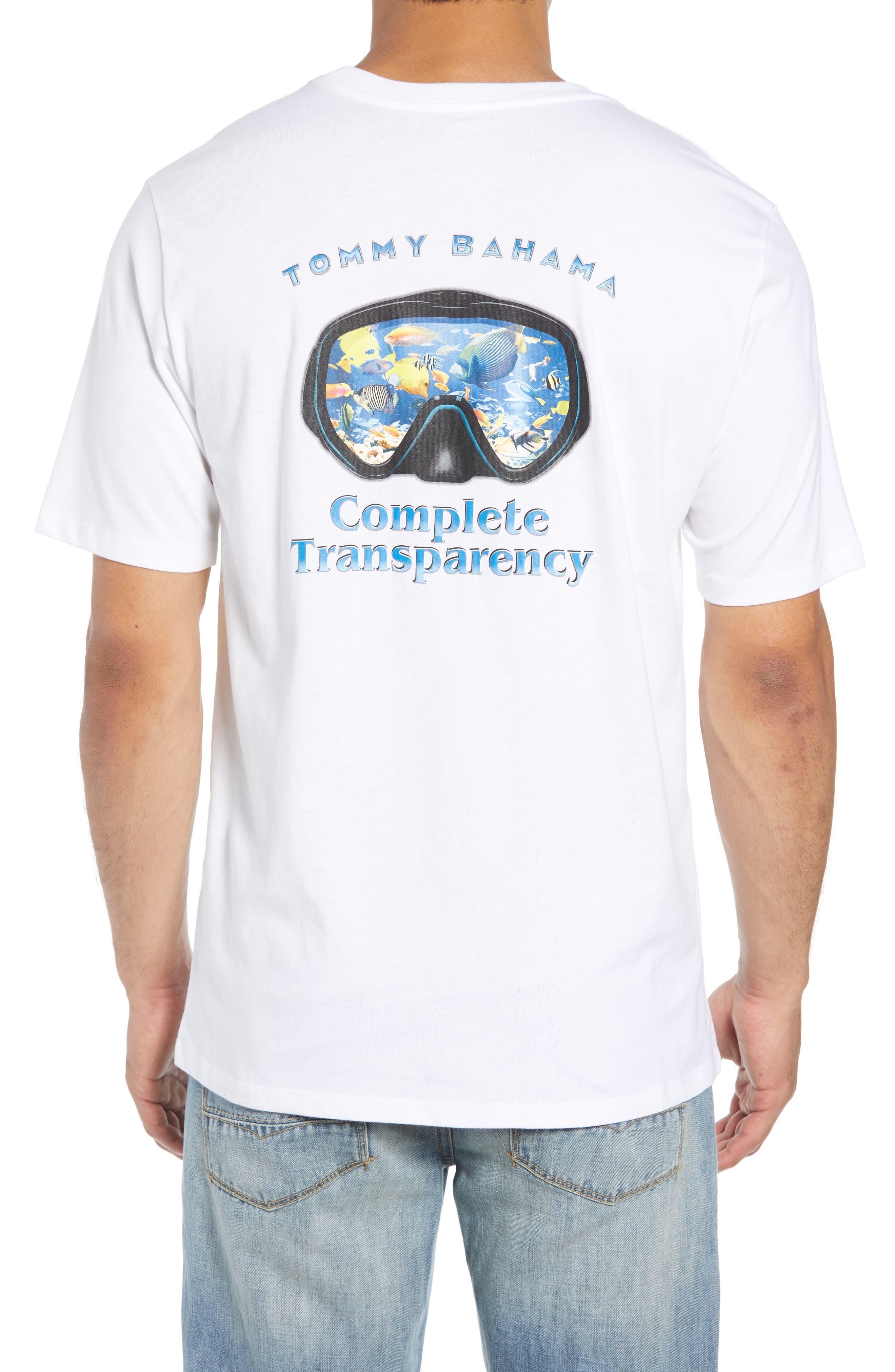 Complete Transparency T-Shirt,                             Alternate thumbnail 2, color,                             100