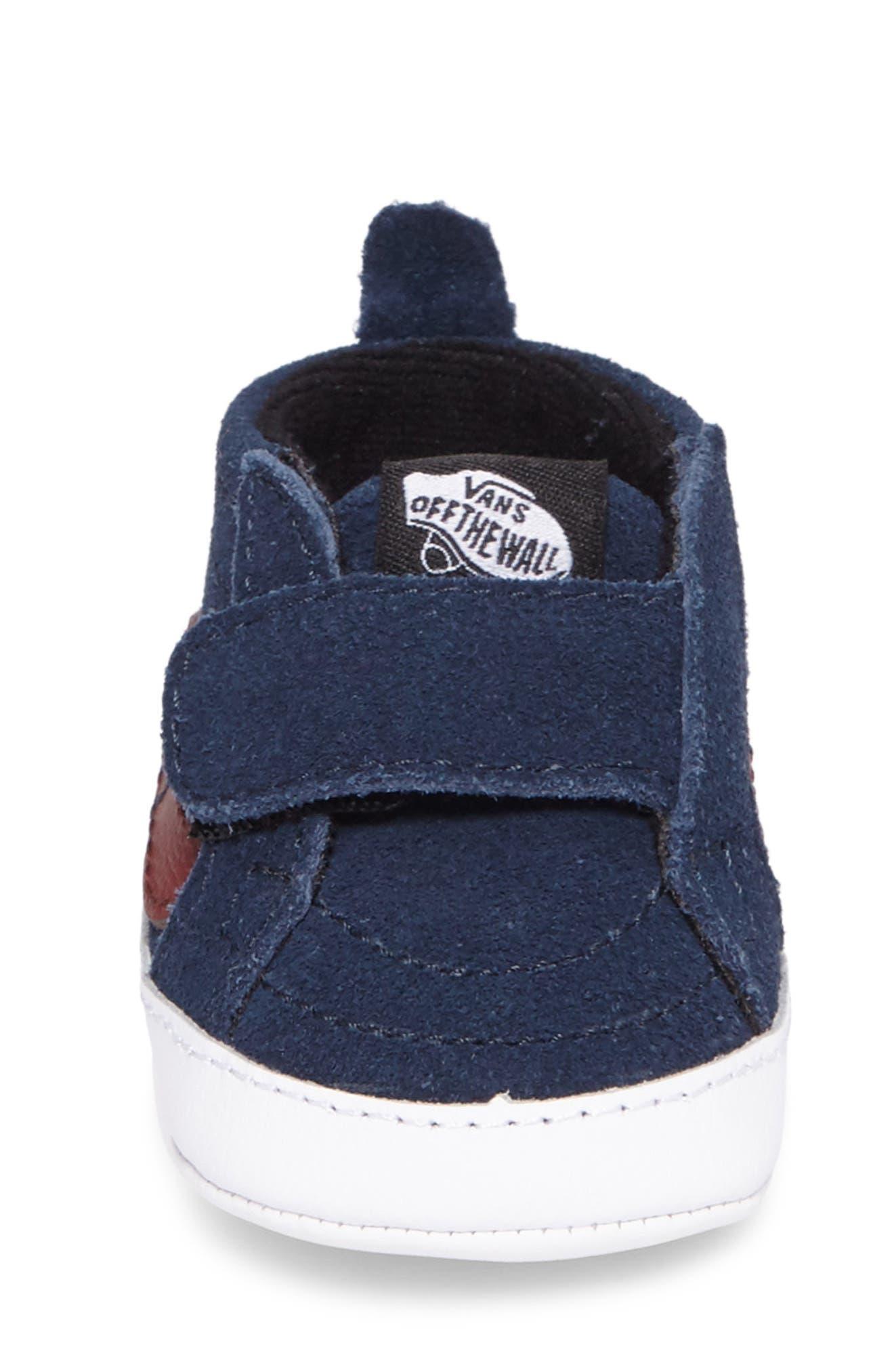 SK8-Hi Crib Sneaker,                             Alternate thumbnail 4, color,                             401