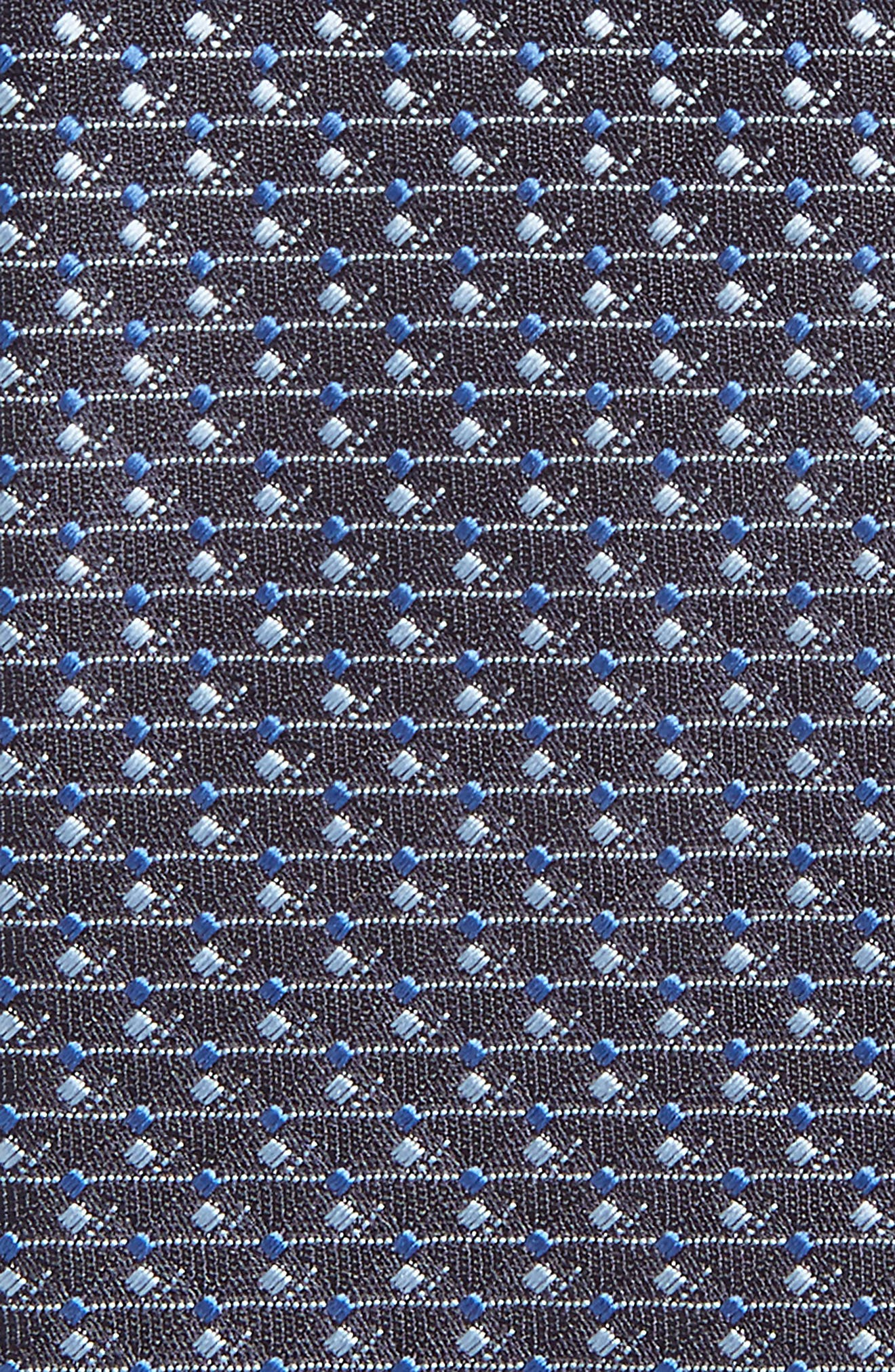Geometric Silk Tie,                             Alternate thumbnail 2, color,                             411