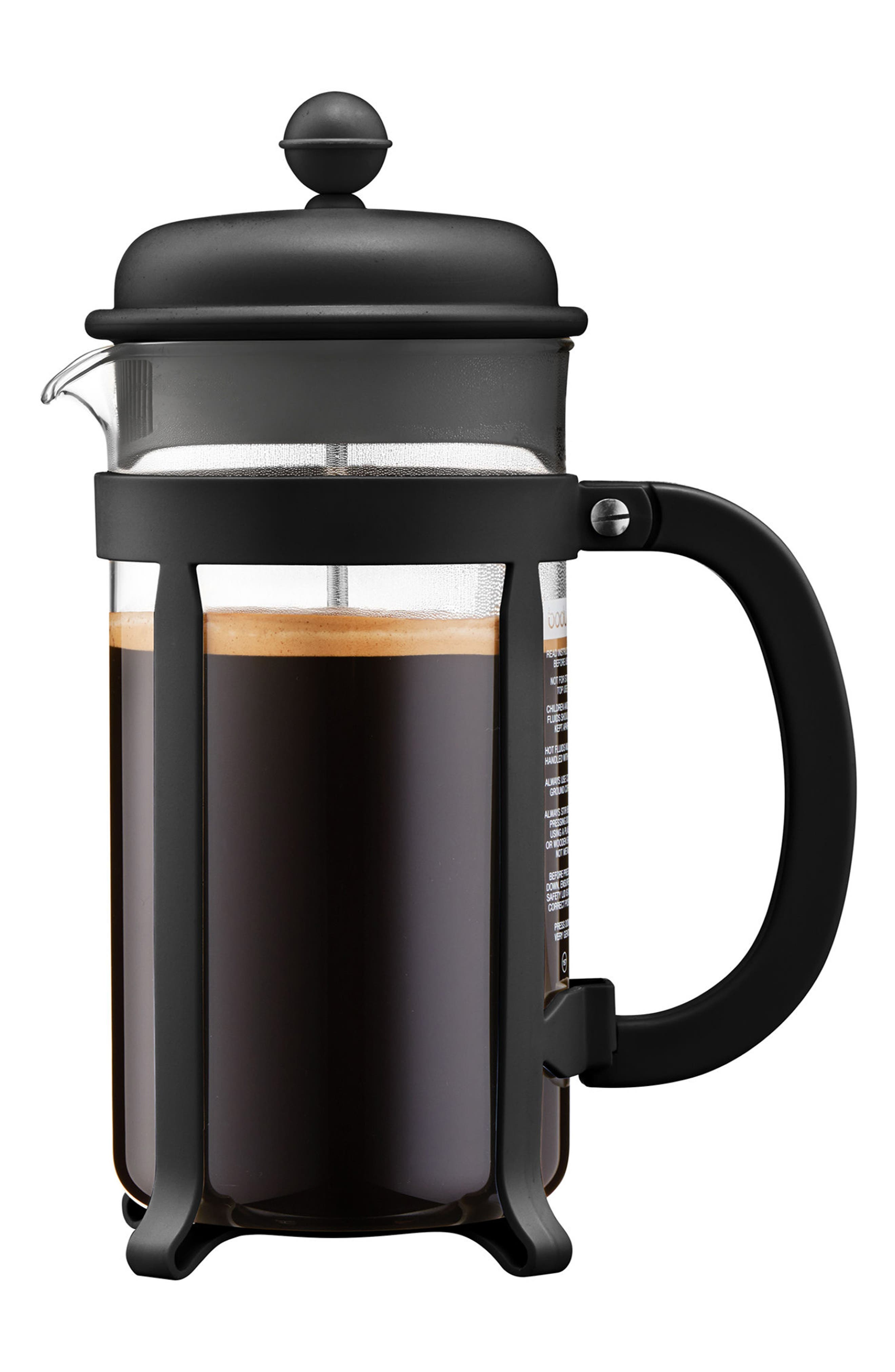 Java French Press Coffee Maker,                         Main,                         color, 001
