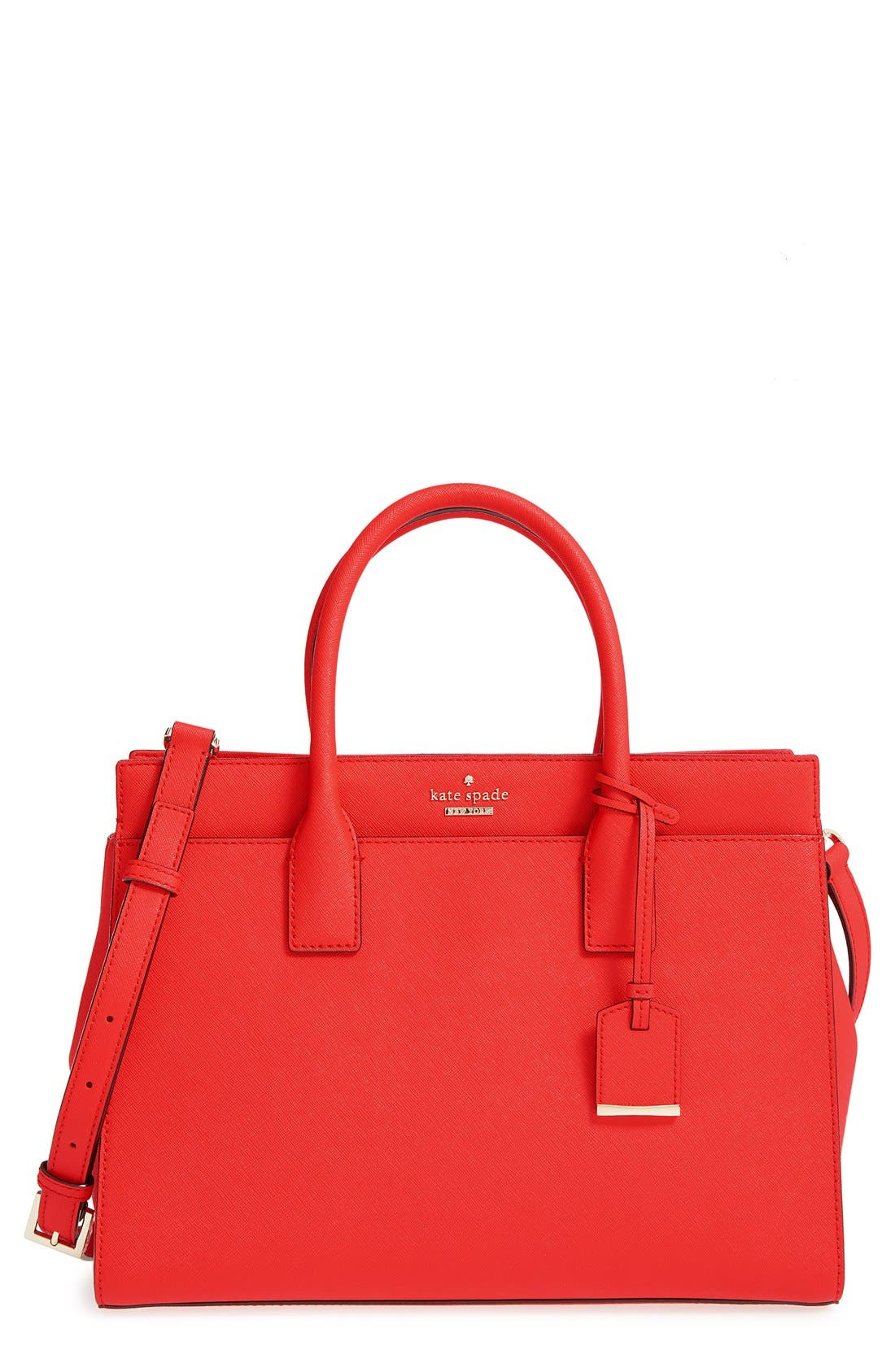 cameron street - candace leather satchel,                             Main thumbnail 10, color,