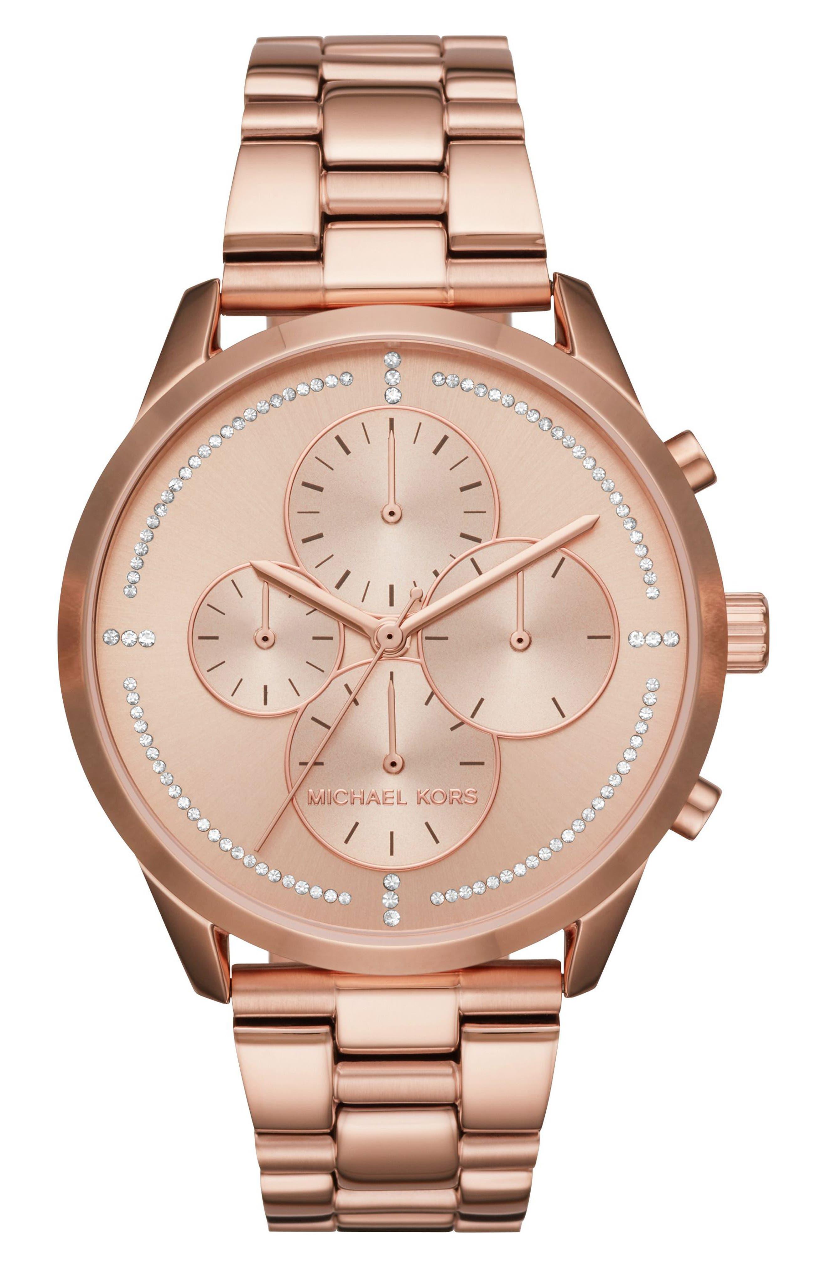 Slater Chronograph Bracelet Watch, 40mm,                             Main thumbnail 5, color,