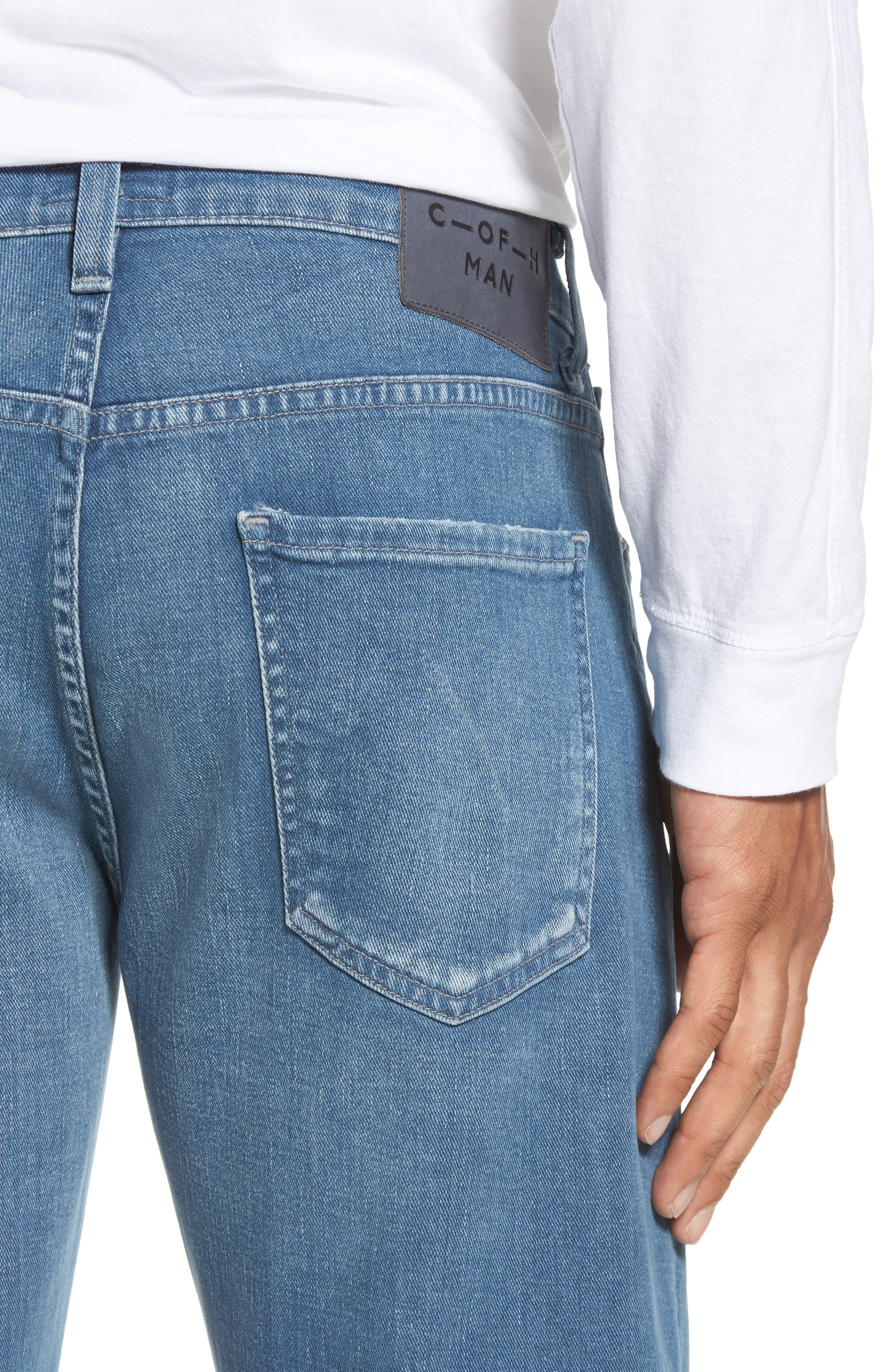 Core Slim Fit Jeans,                             Alternate thumbnail 4, color,                             427