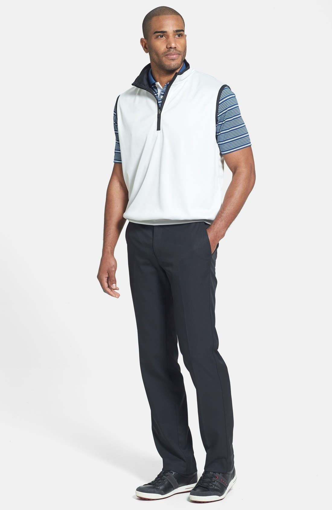 'Staley' Moisture Wicking Polo,                             Alternate thumbnail 6, color,                             402