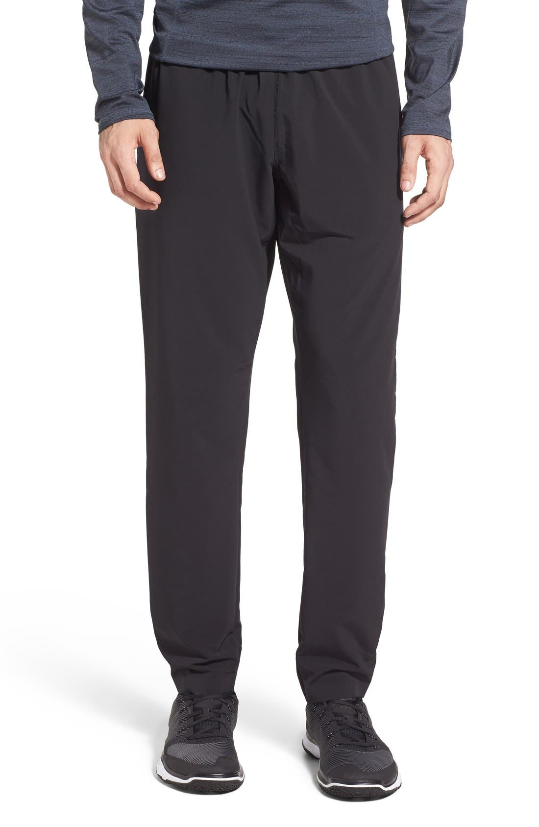 Graphite Tapered Athletic Pants,                             Main thumbnail 1, color,                             001