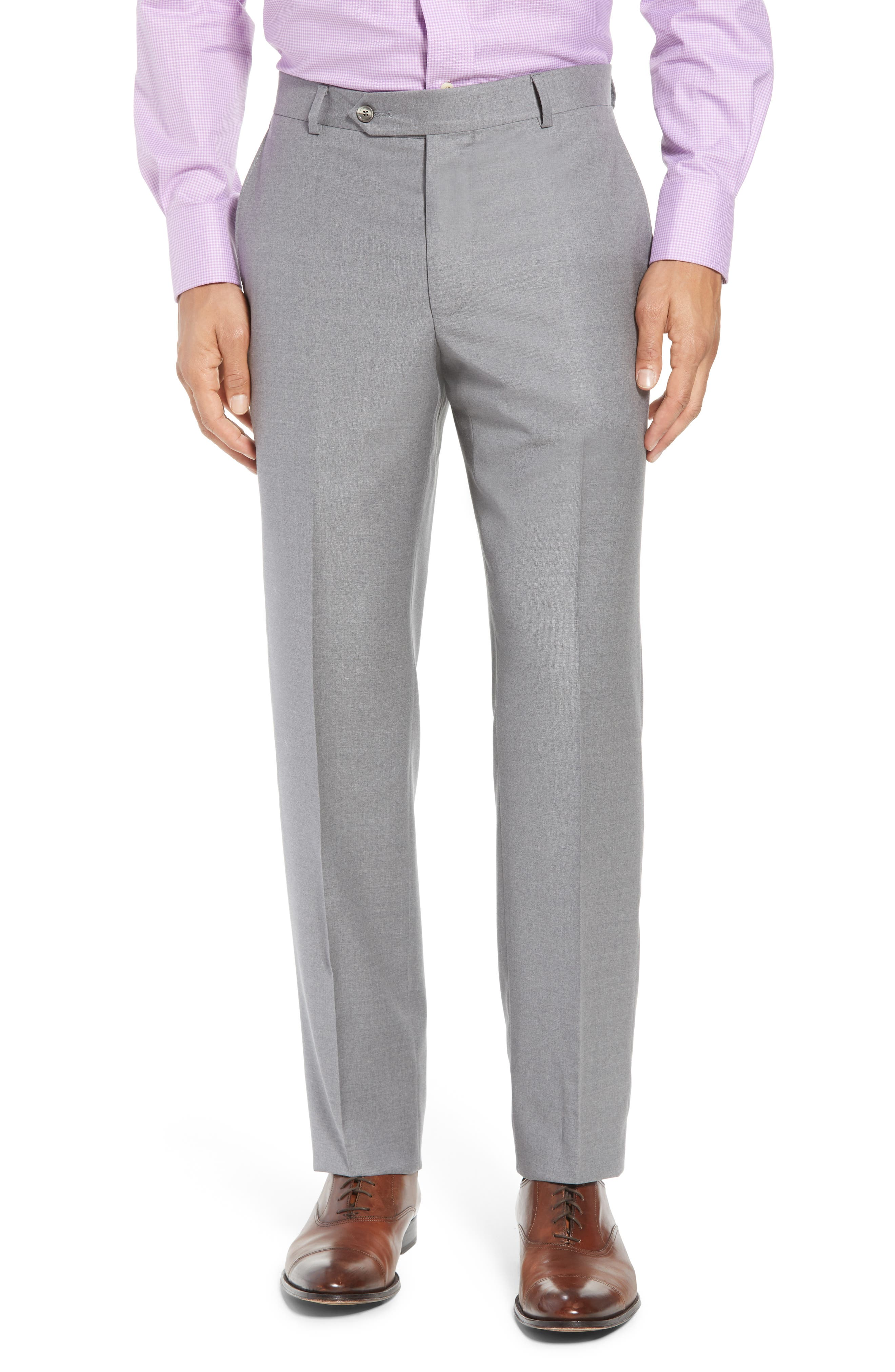 Bennet Classic Fit Solid Wool Suit,                             Alternate thumbnail 6, color,                             020