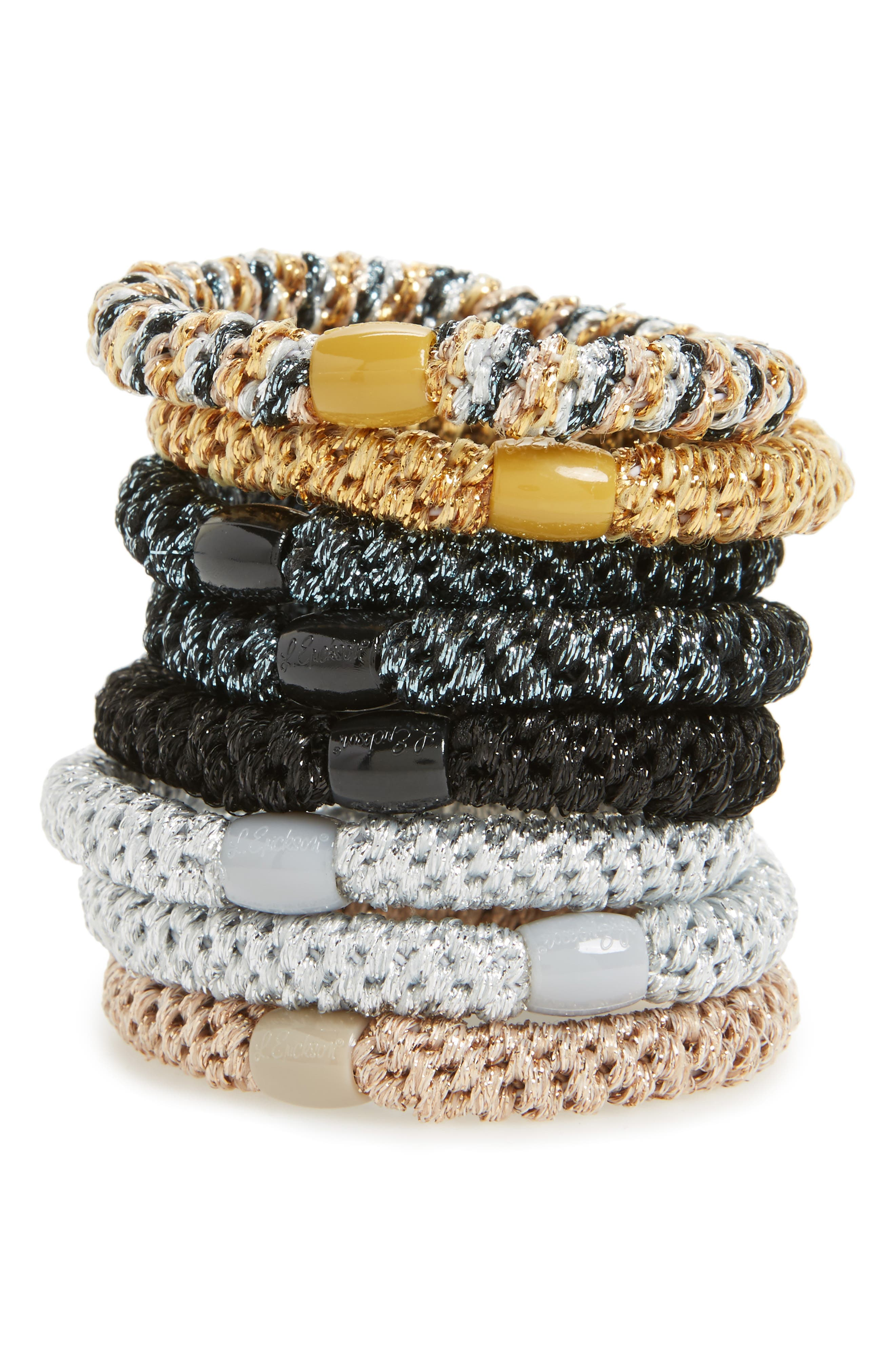 Ponytail Holders,                         Main,                         color, 040