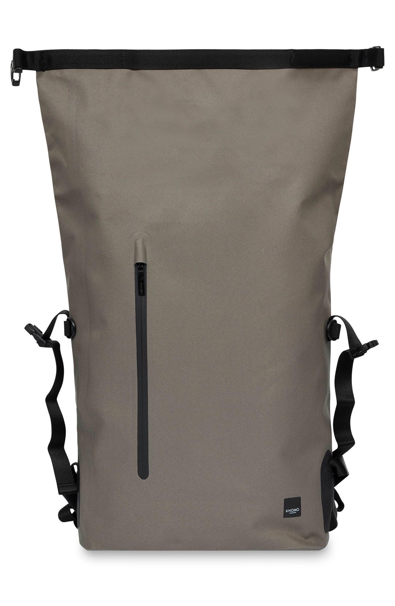 Thames Cromwell Roll Top Backpack,                             Alternate thumbnail 5, color,                             KHAKI