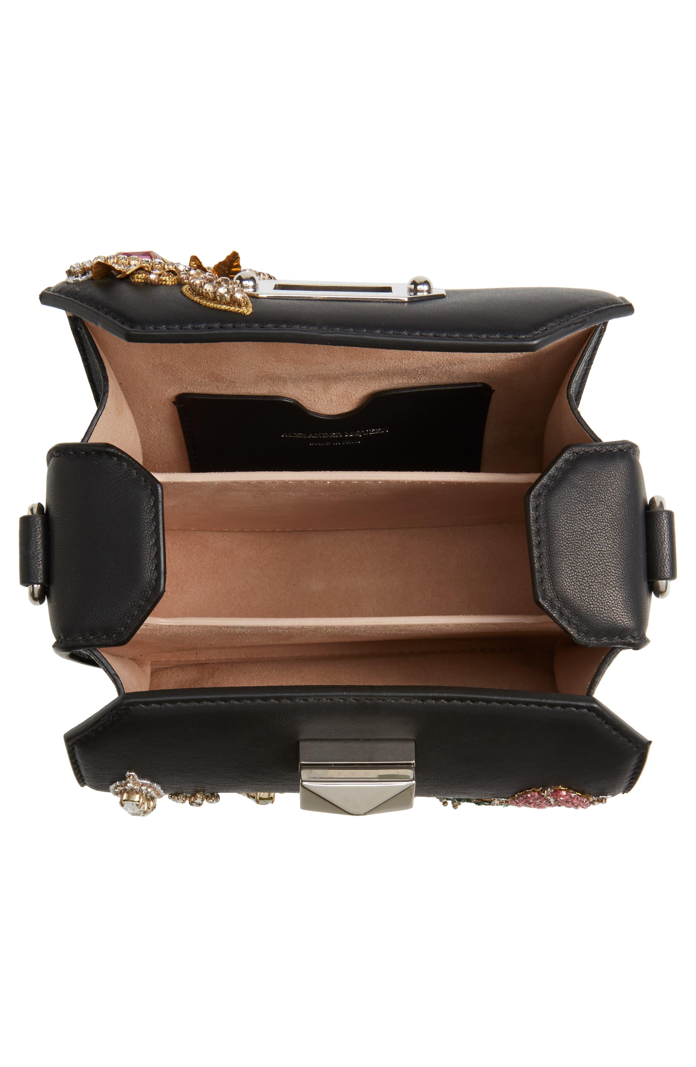 Box Bag 16 Embellished Lambskin Leather Bag,                             Alternate thumbnail 5, color,