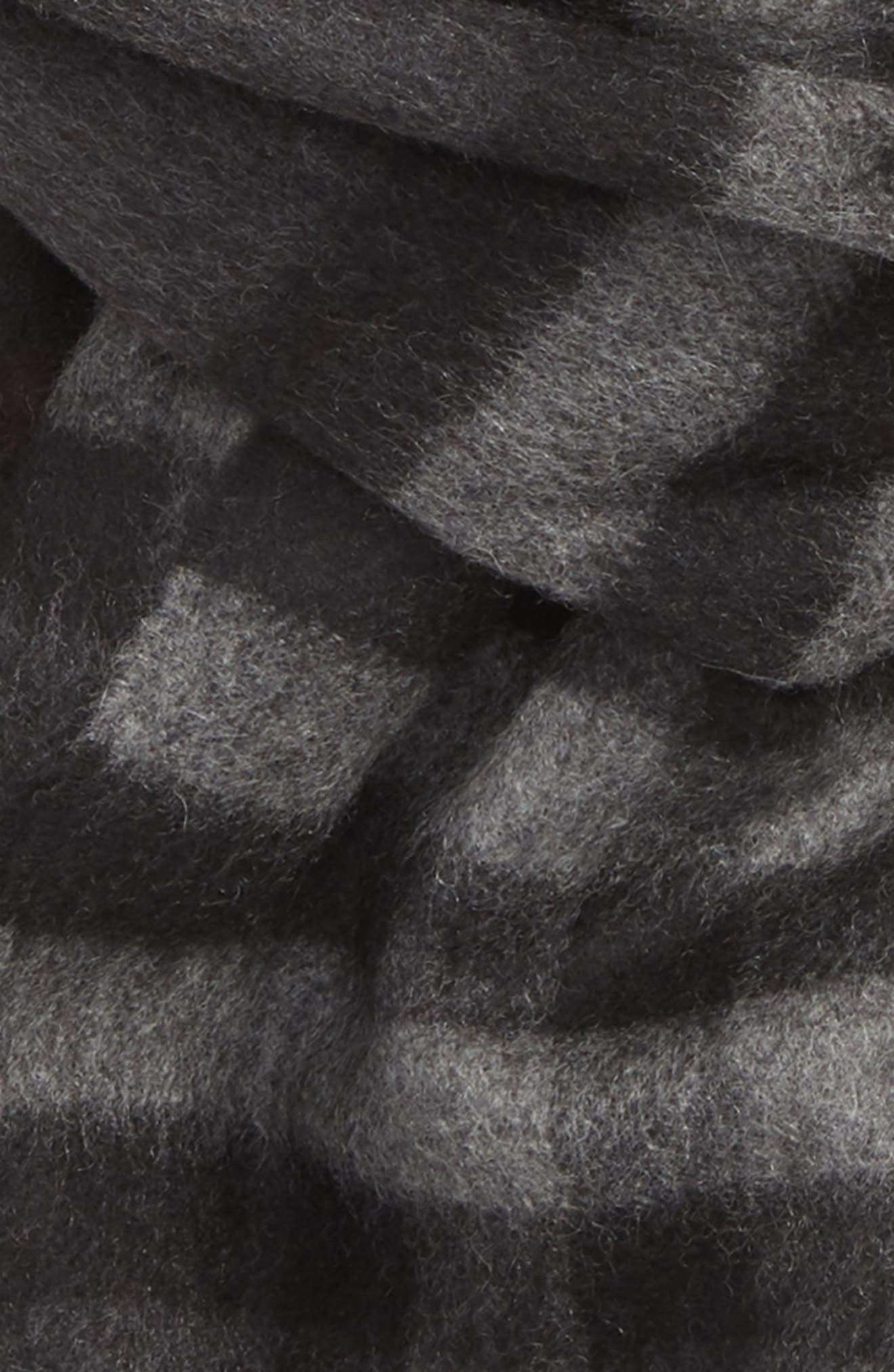 Heritage Check Cashmere Scarf,                             Alternate thumbnail 3, color,                             027