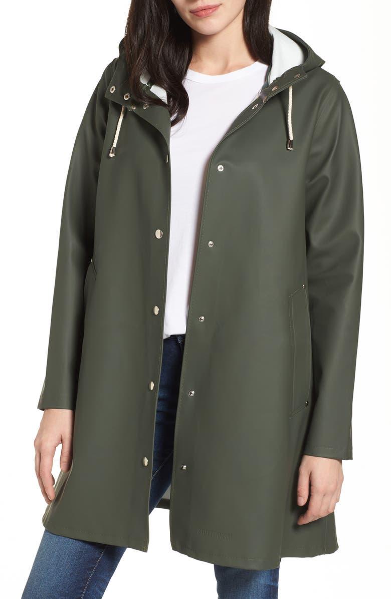 02fead888a0 Stutterheim Mosebacke Waterproof A-Line Hooded Raincoat
