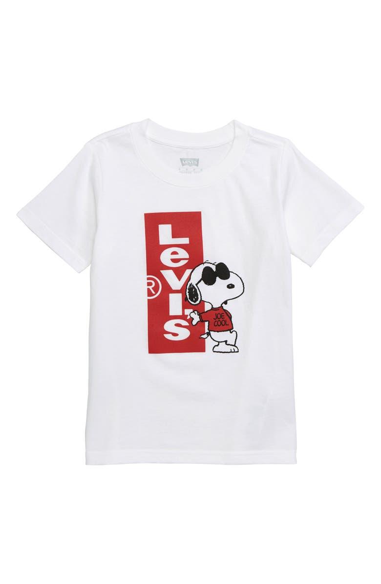 618d190b262 Levi s® x Peanuts Snoopy Joe Cool Graphic T-Shirt (Toddler Boys ...