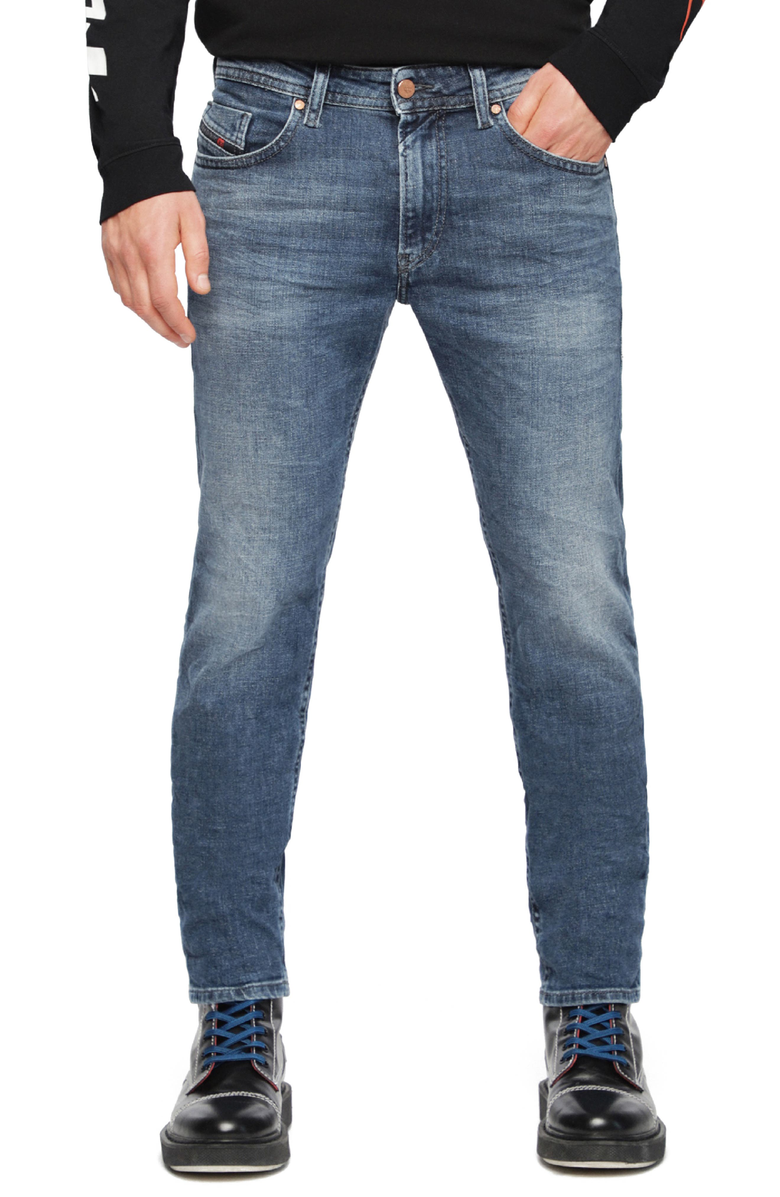 Thommer Slim Fit Jeans,                             Main thumbnail 1, color,                             084UH