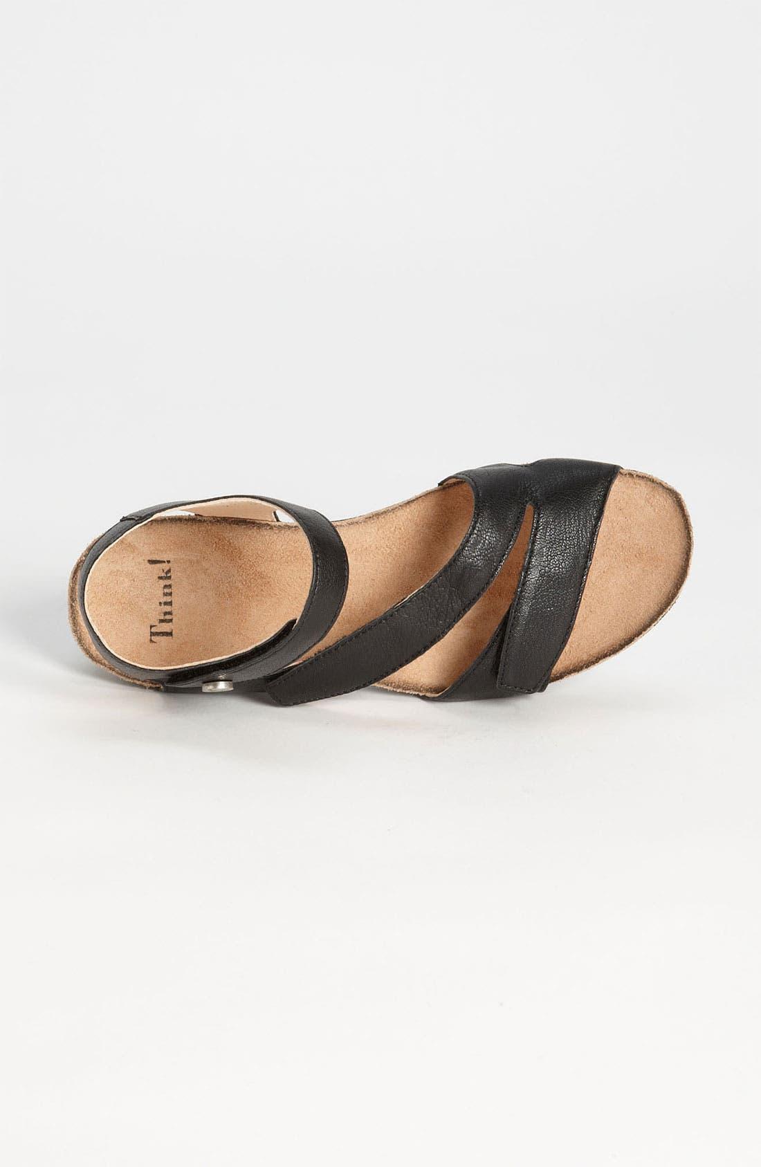 'Dumia' Three Strap Sandal,                             Alternate thumbnail 2, color,                             001