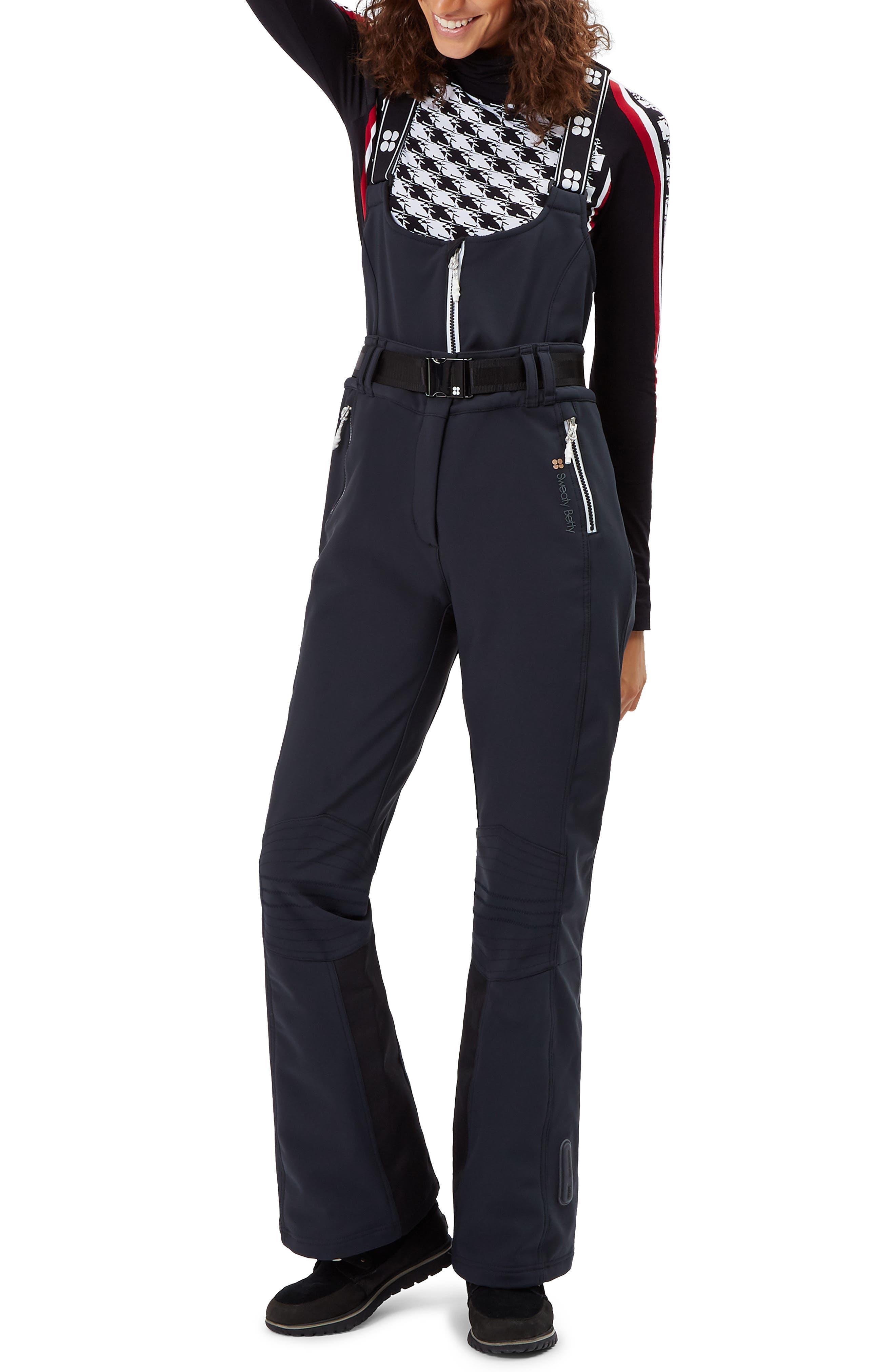 Astro Waterproof Soft Shell Ski Pants,                         Main,                         color, BLACK