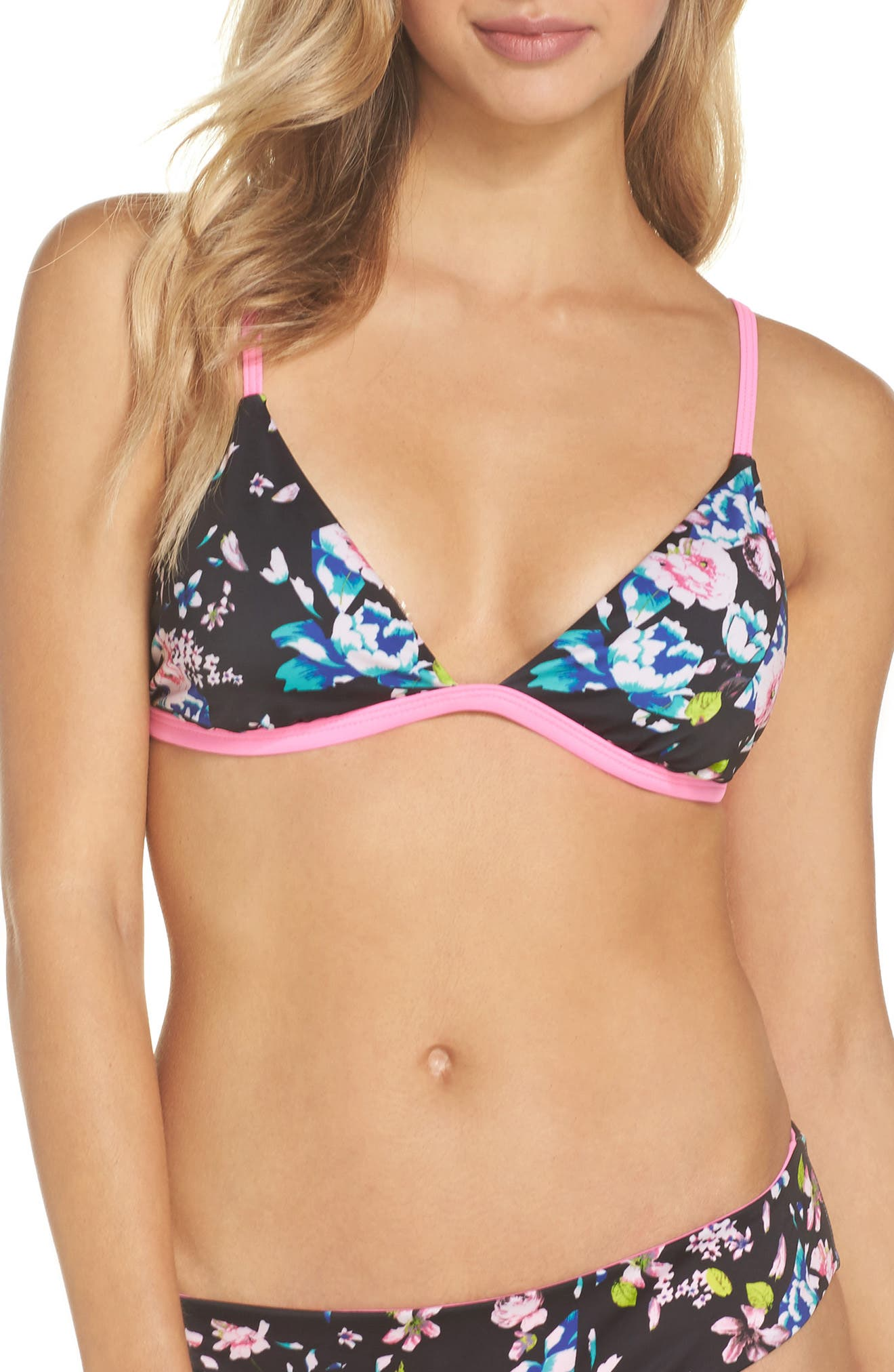 Triangle Bikini Top,                         Main,                         color, 002