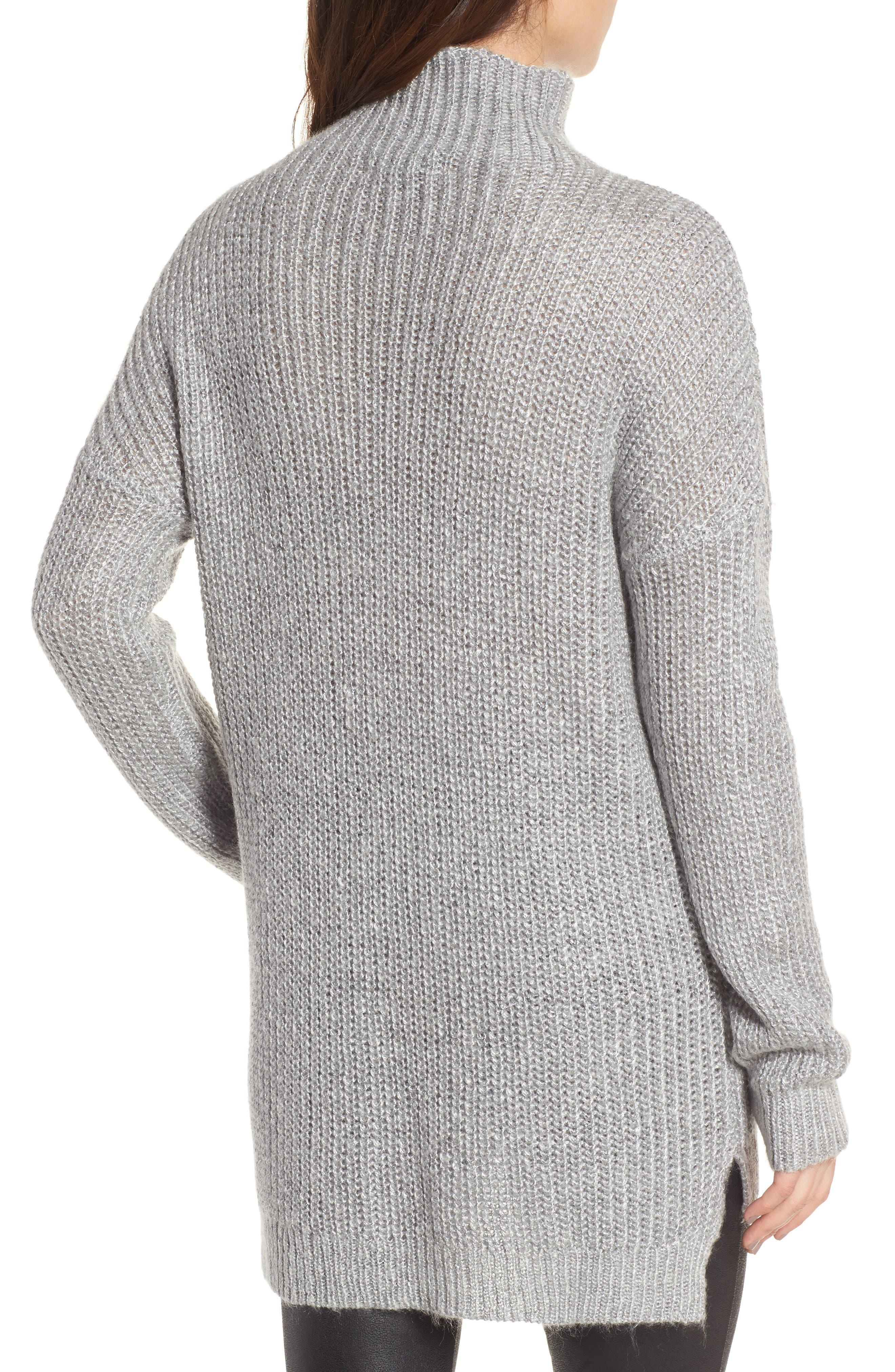 Rib Knit Sweater,                             Alternate thumbnail 2, color,                             030